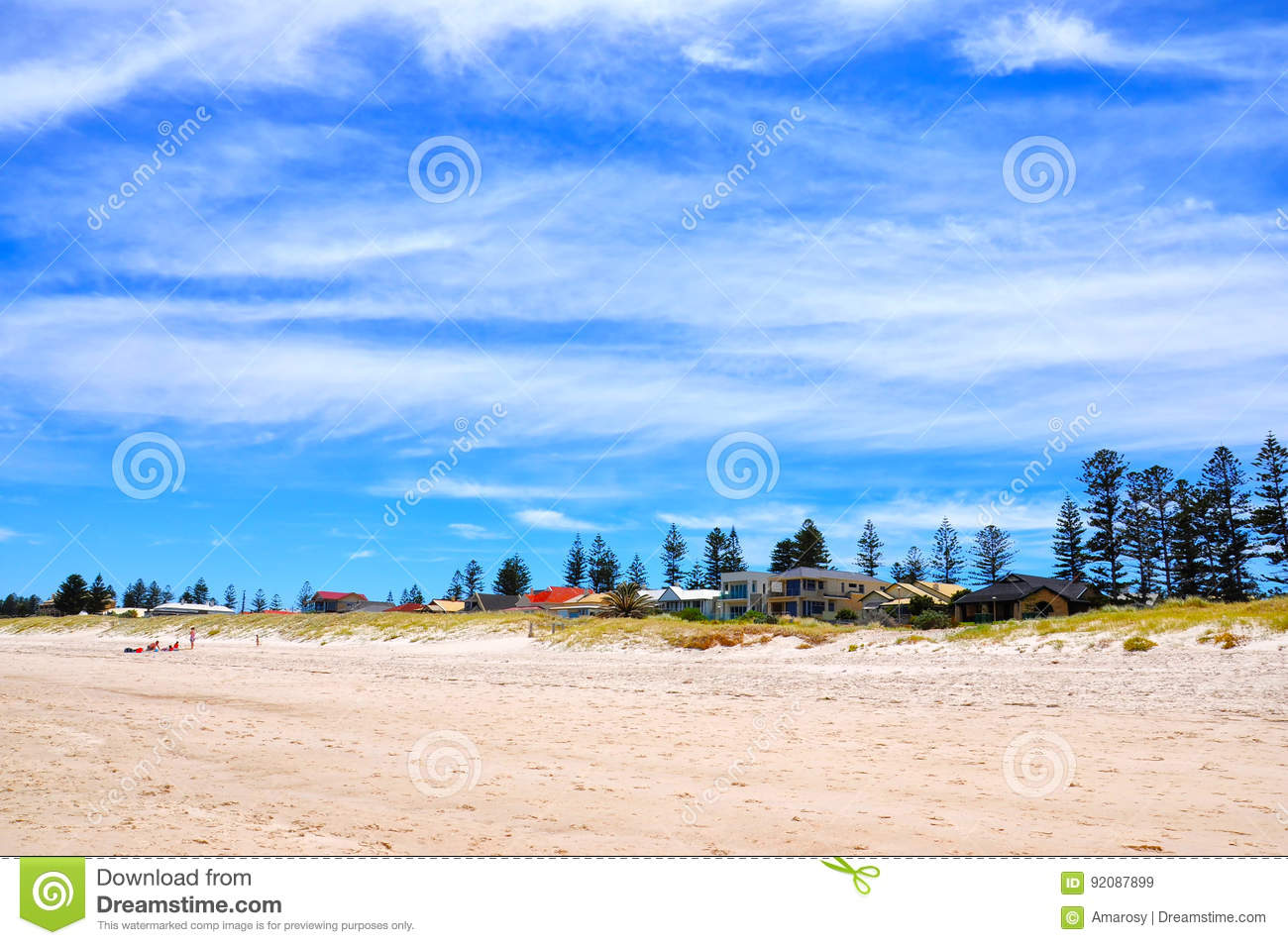 summertime beach scene background stock image image of lifestyle