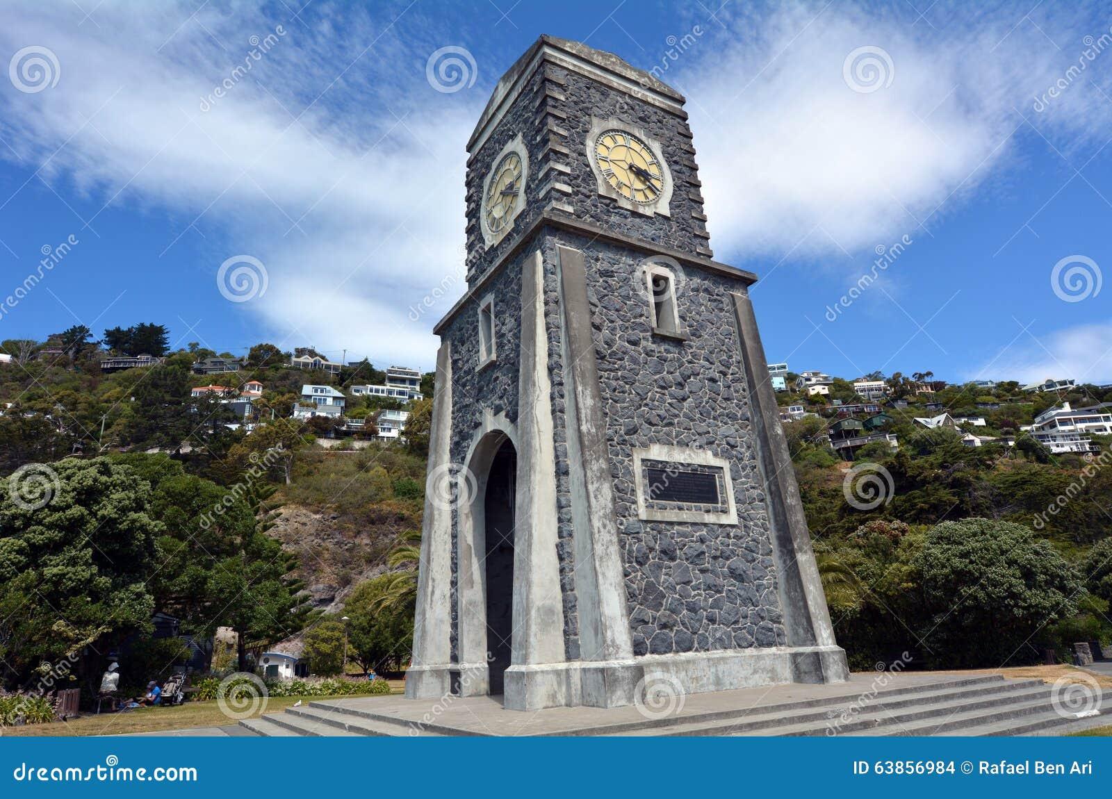 Sumner Scarborough Clock Tower Christchurch - Nueva Zelanda