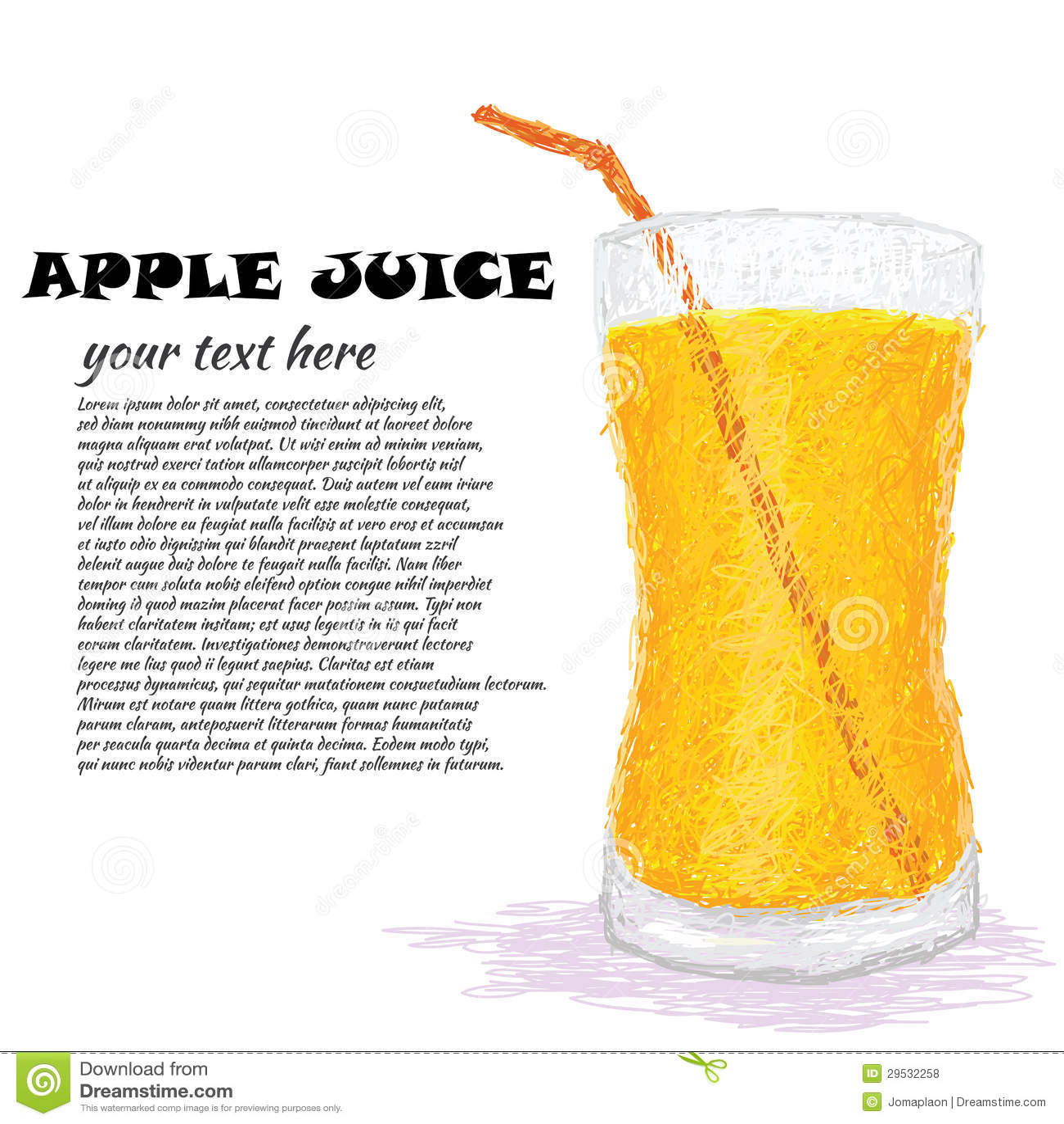 Sumo de maçã