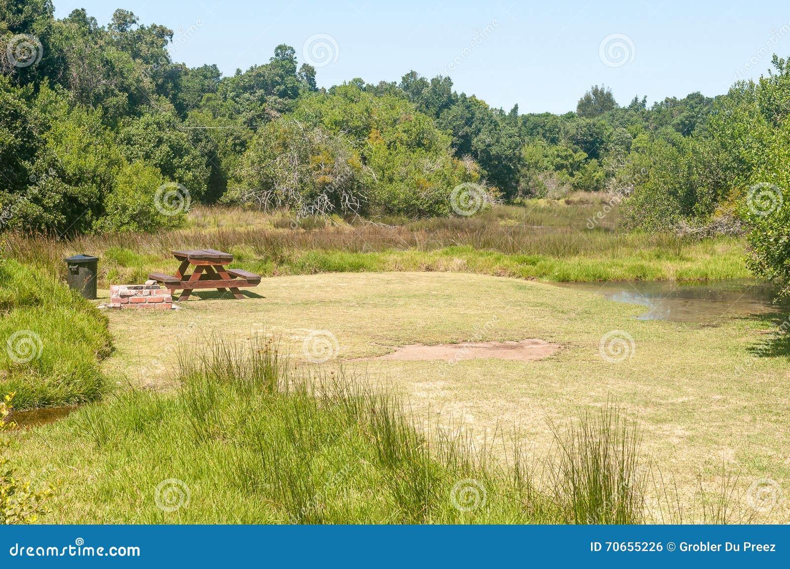 Sumpfgebiet des Groot-Flusses