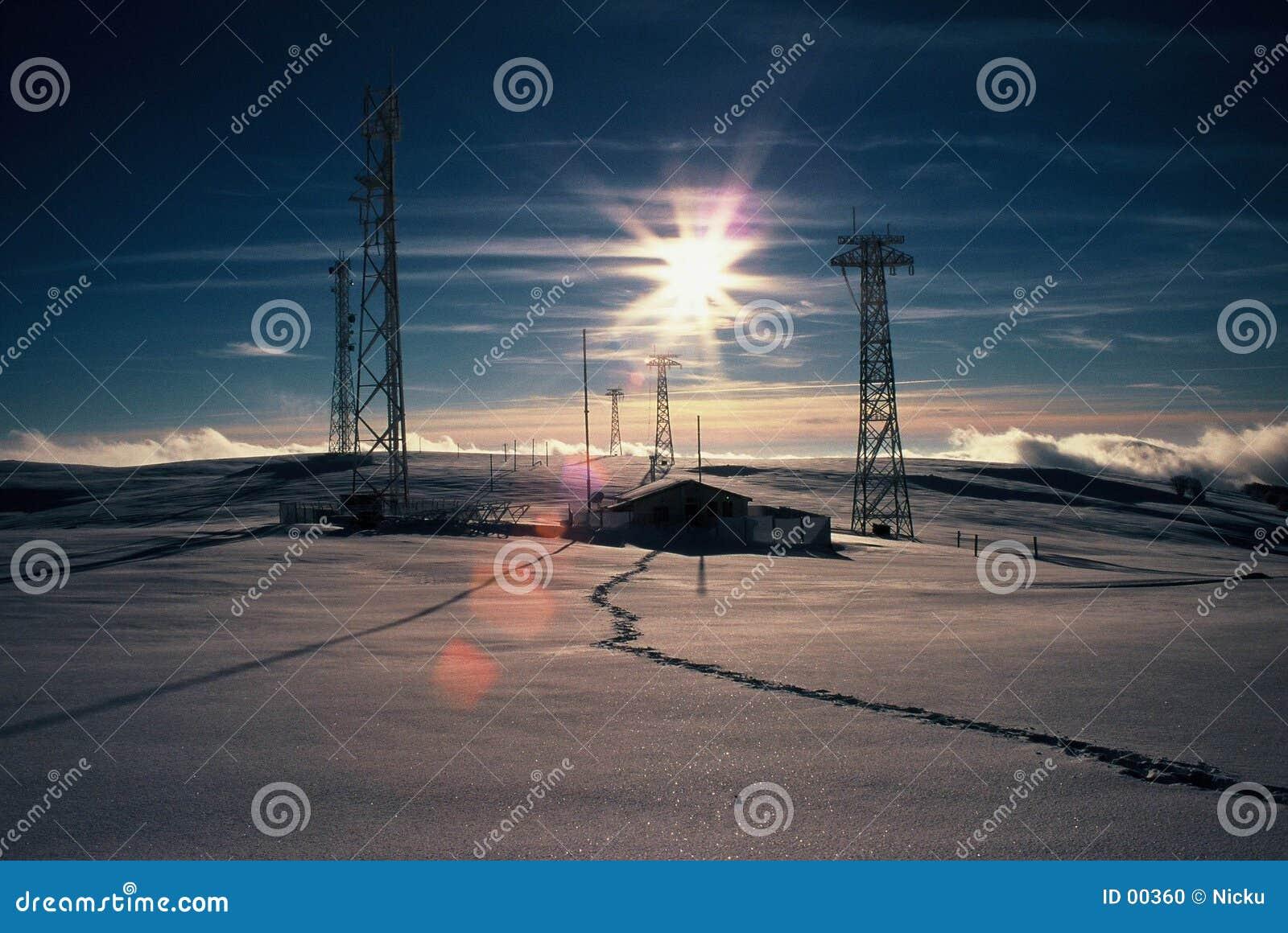 Sun-Aufflackern