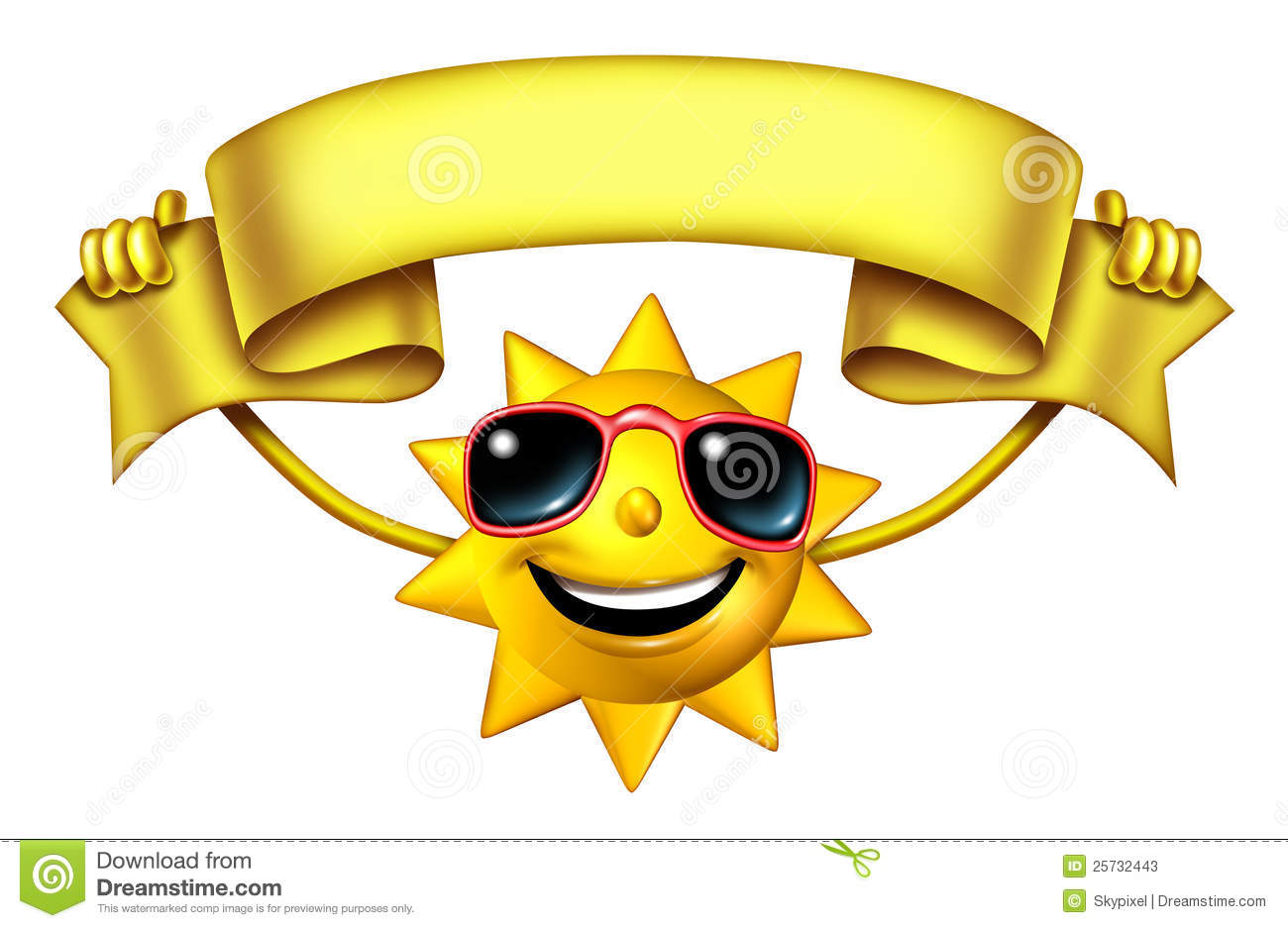 Sun With a Banner