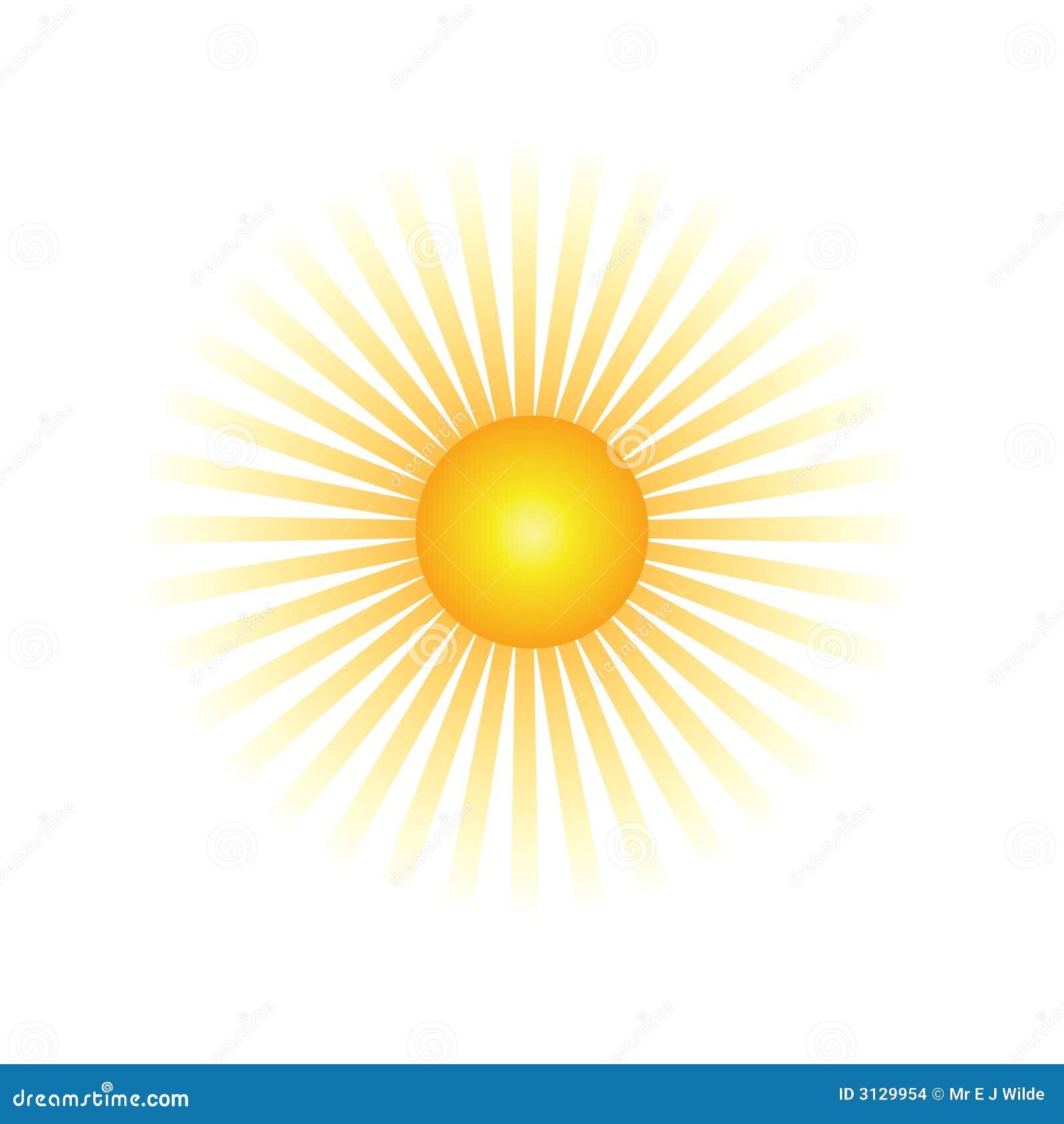 Half Sun Clip Art Sun beam stock images