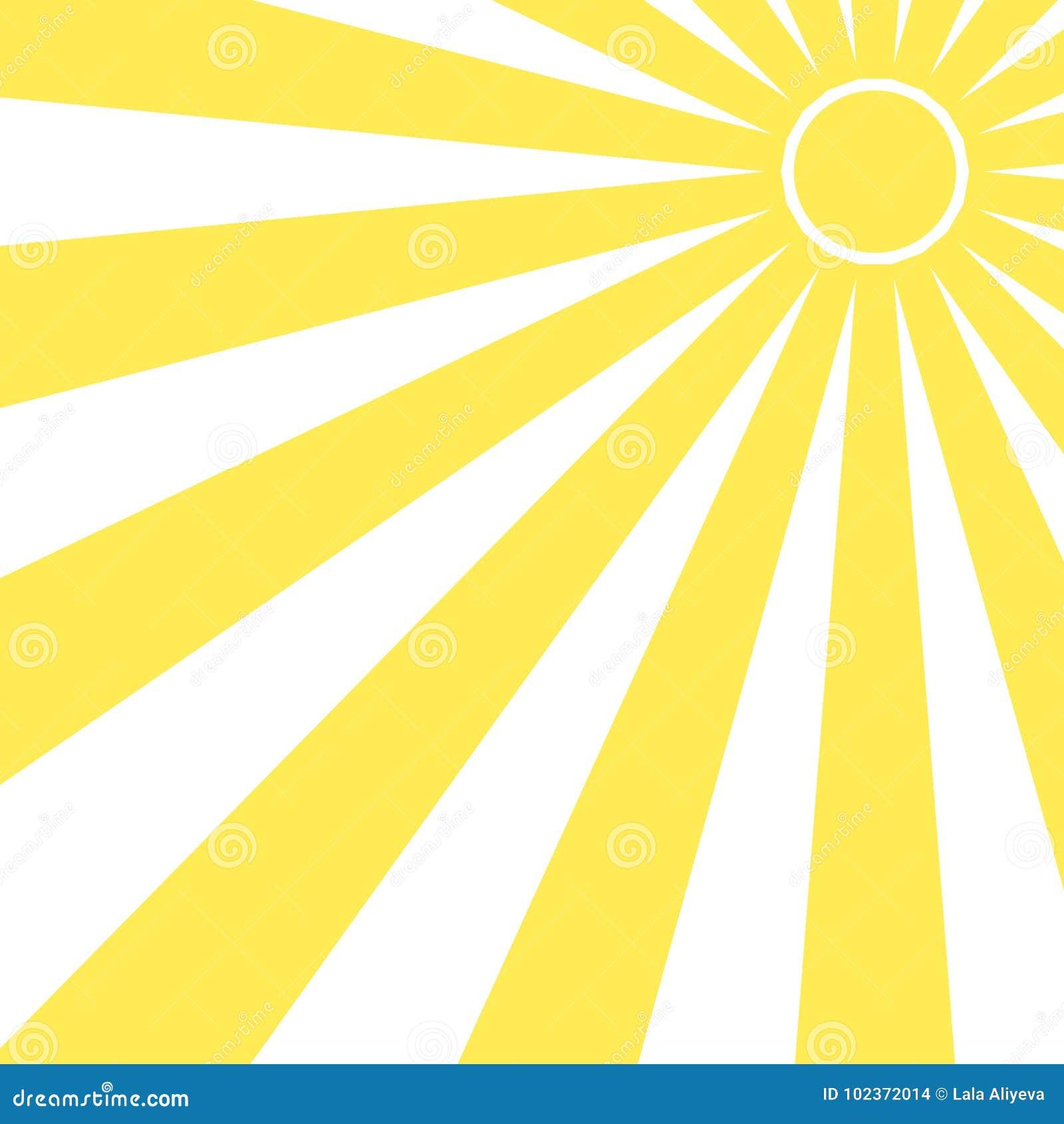359cb3851ae Sun Beam Ray Sunburst Pattern Background Summer. Shine Summer ...