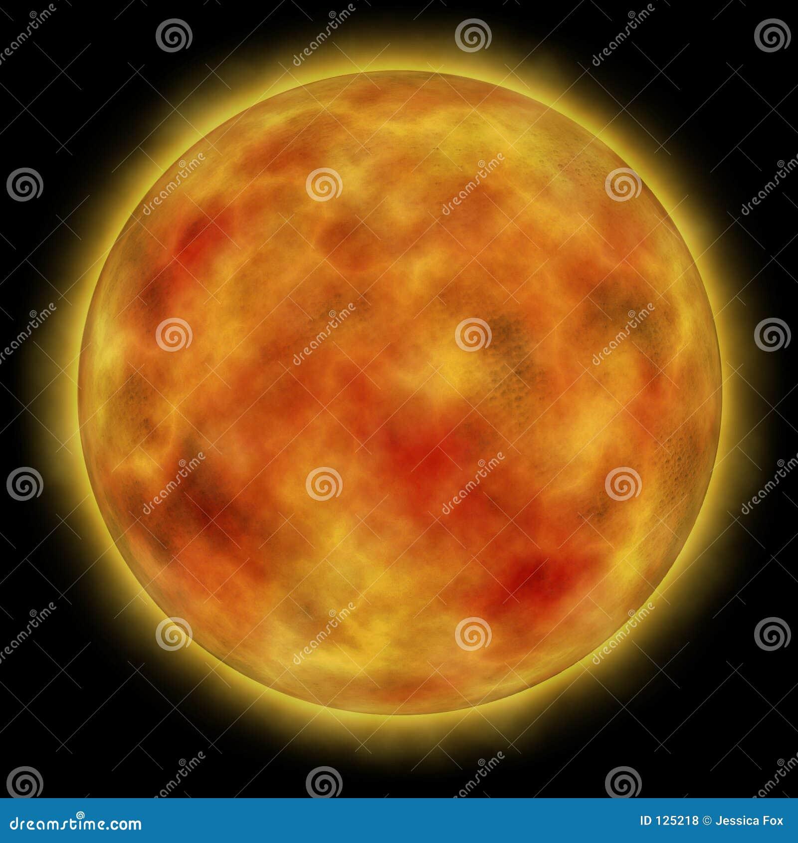 Sun bruciante