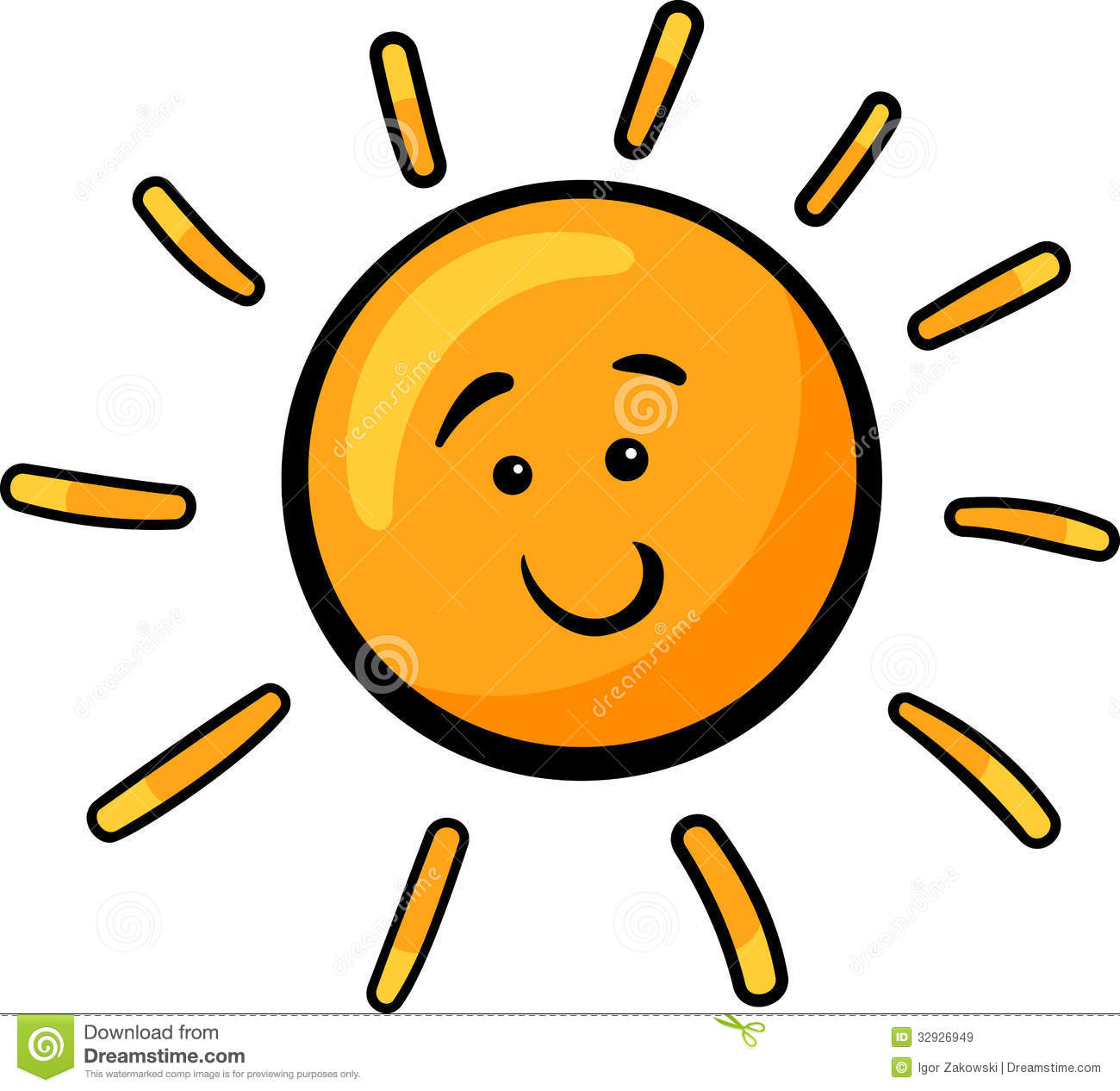 sun clip art cartoon illustration stock vector illustration of rh dreamstime com