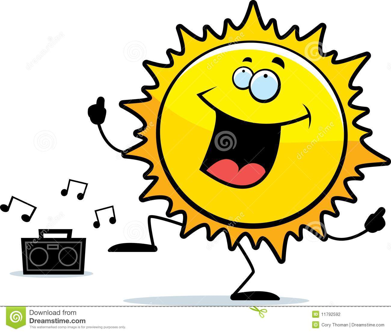 Sun Dancing Stock Photography - Image: 11792592