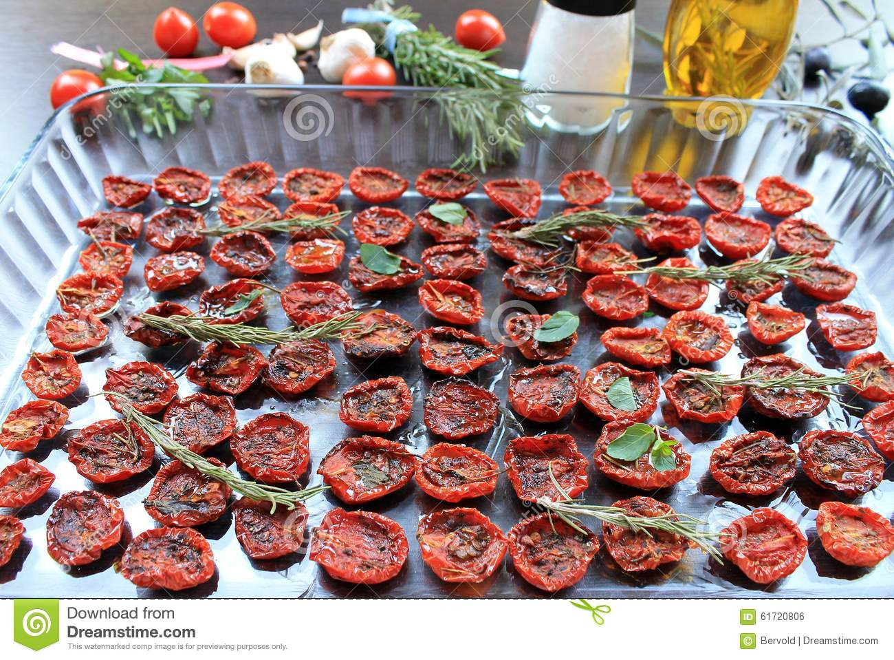 how to make sun dried cherry tomatoes in the sun