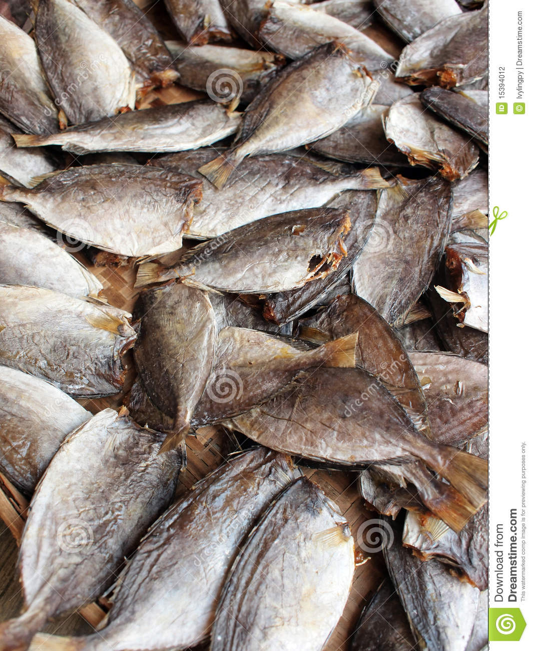 Sun dried and salt preserved fish stock photography for Chinese salted fish