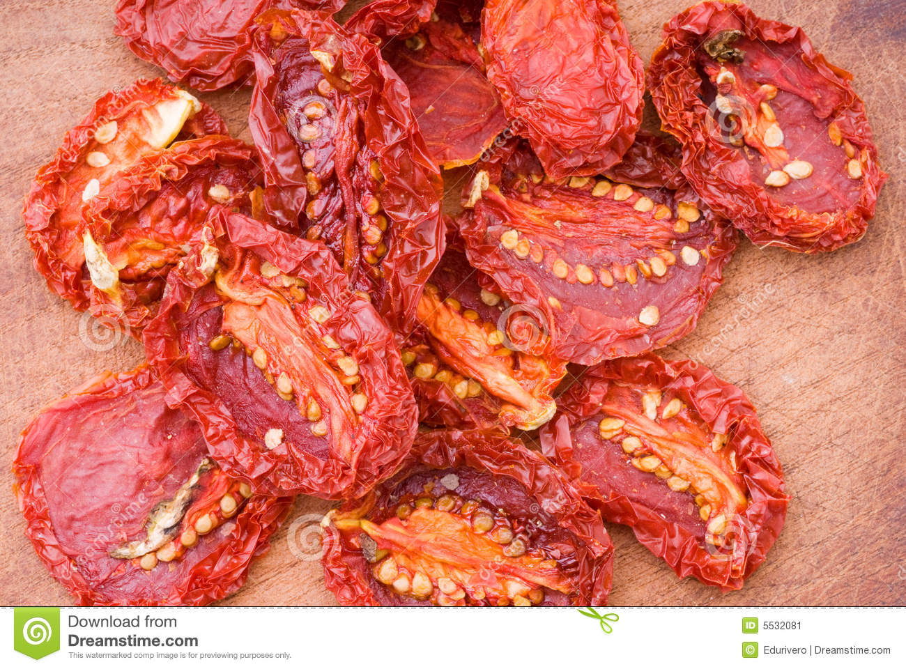 Sun Dried Tomatoes Stock Image - Image: 5532081