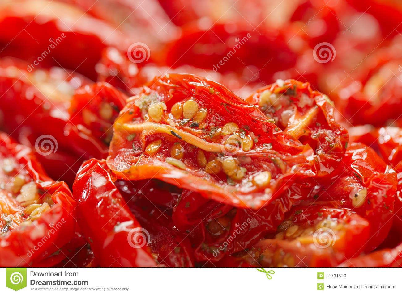 Sun-dried Tomatoes With Olive Oil Royalty Free Stock Images - Image ...