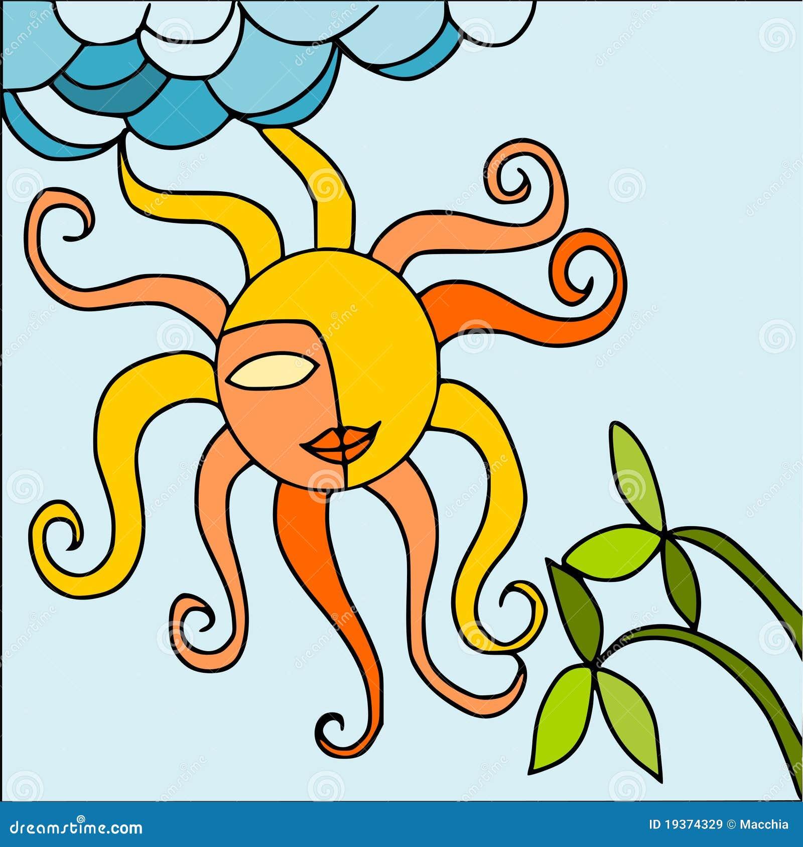Sun e natureza