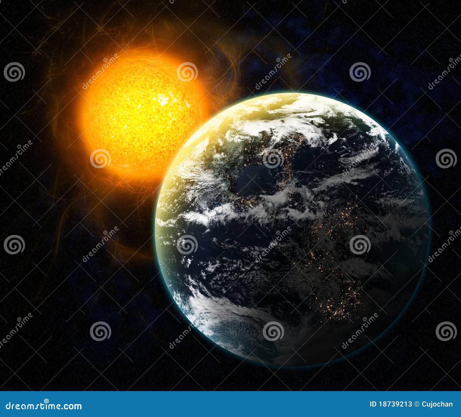 Sun et terre