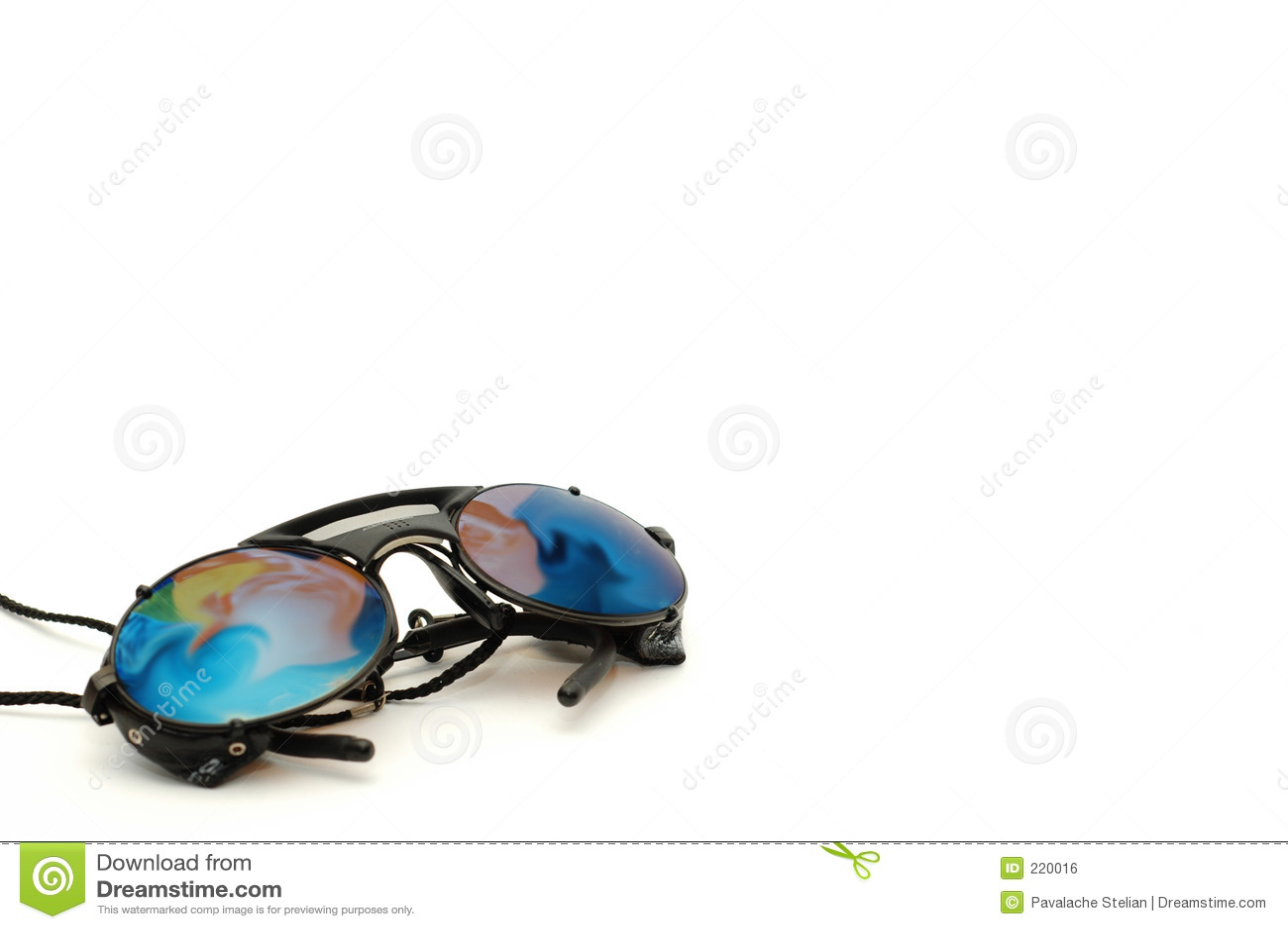 Sun för klättringutrustningexponeringsglas