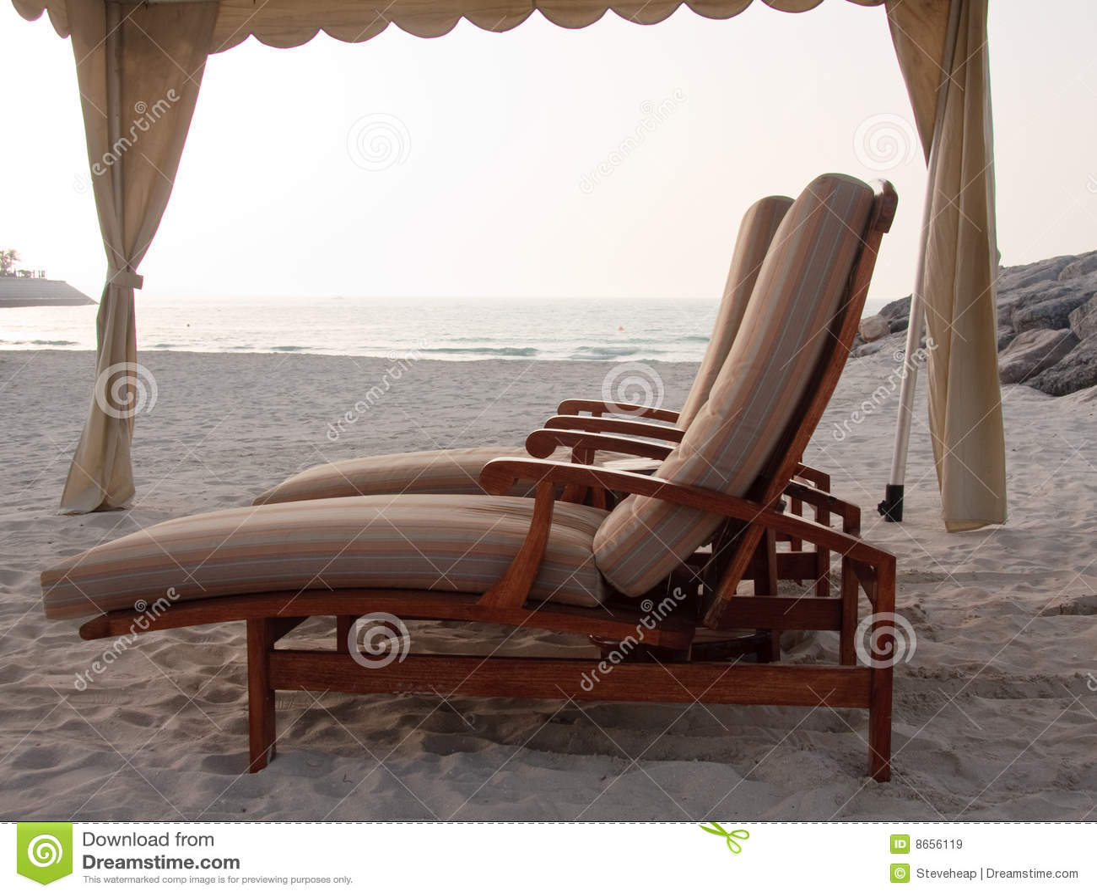 Sun för strandloungerspar