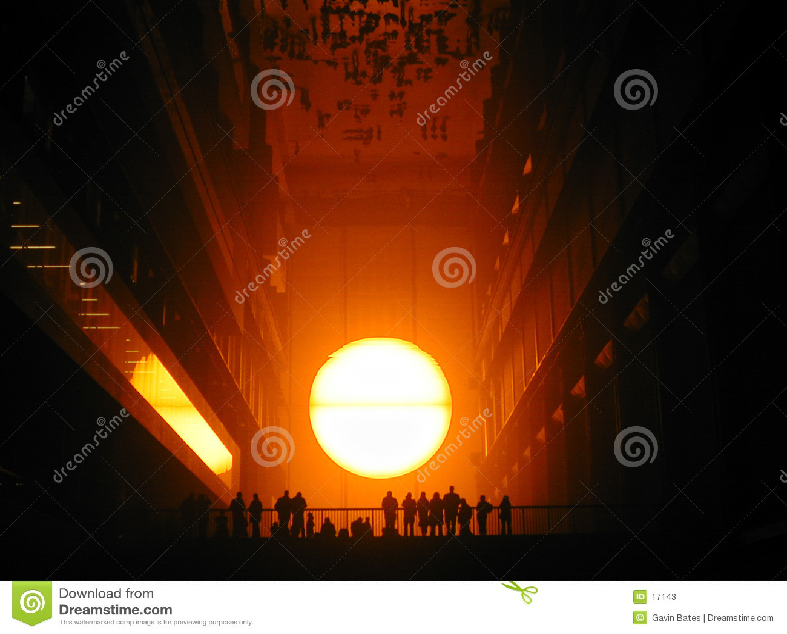 Sun fijó en el Tate Modern 2