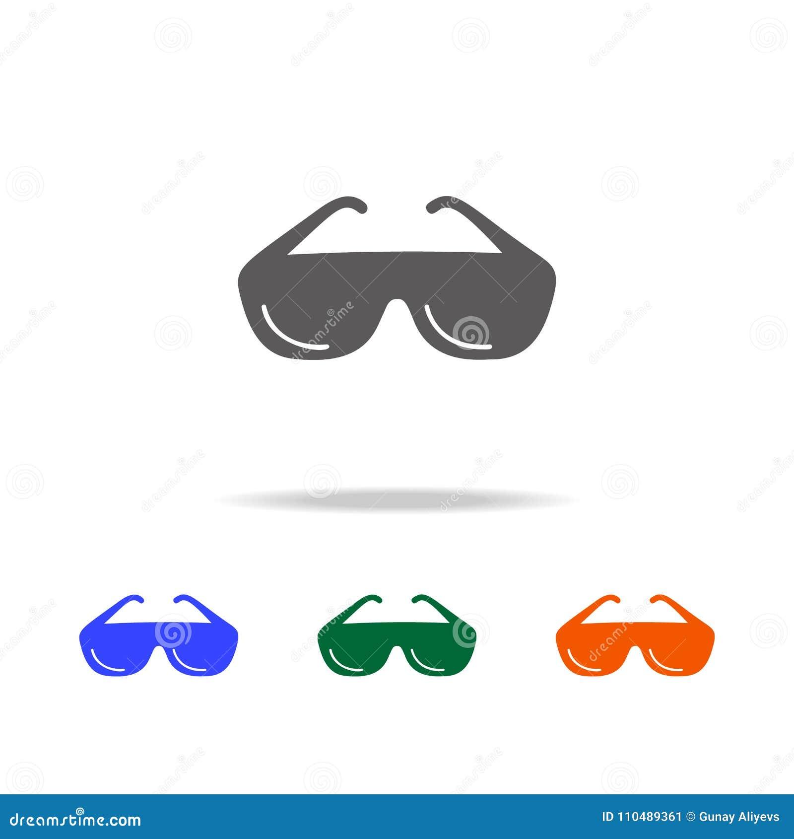 Sun Glasses Icon  Element Of Beach Holidays Multi Colored