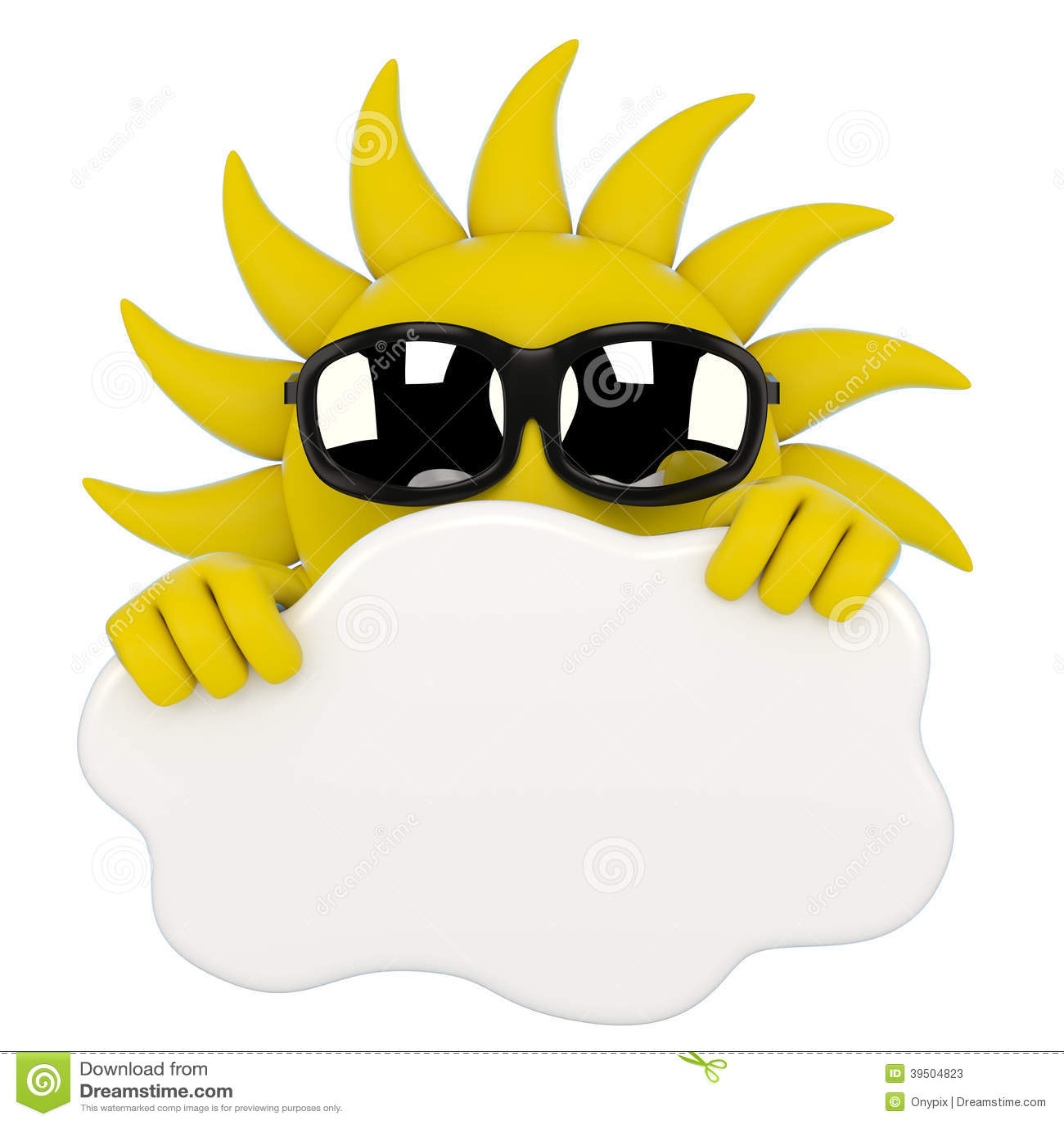 Sun hiding behind a cloud