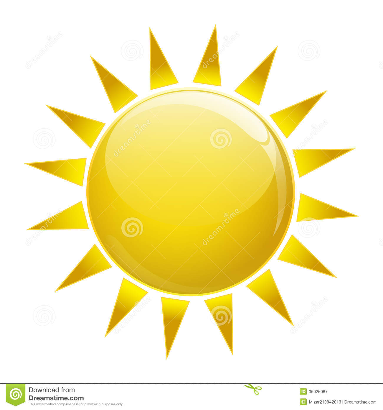 Sun Icon Royalty Free Stock Photography Image 36025067