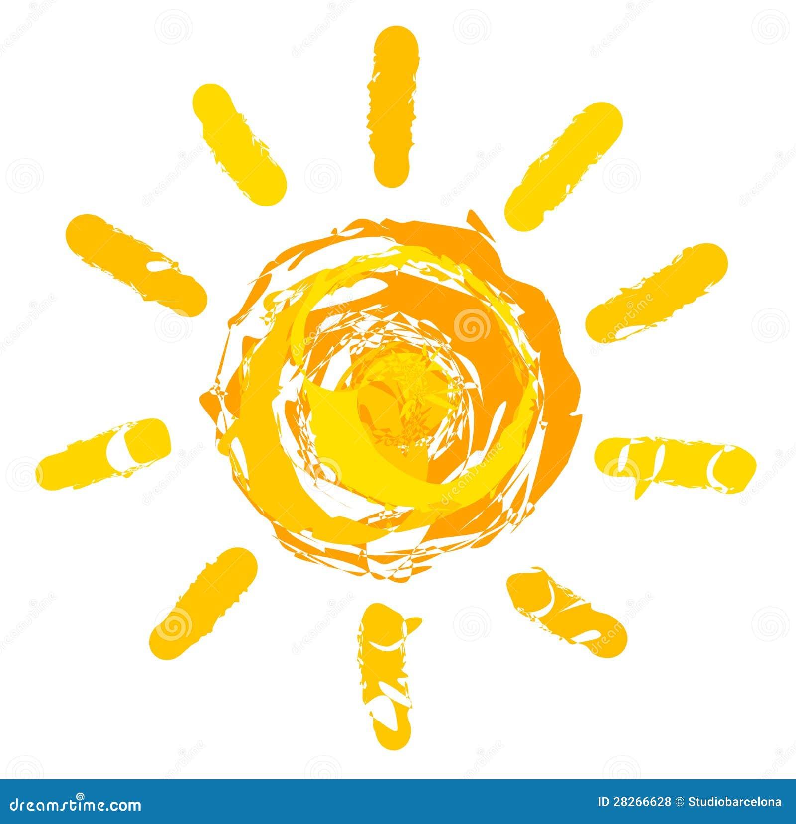 Sun Illustration Royalty Free Stock Photos - Image: 28266628