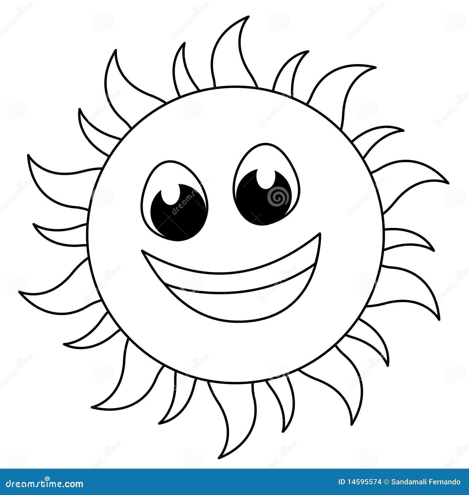 Line Drawing Sun Vector : Sun logo stock vector illustration of drawing black