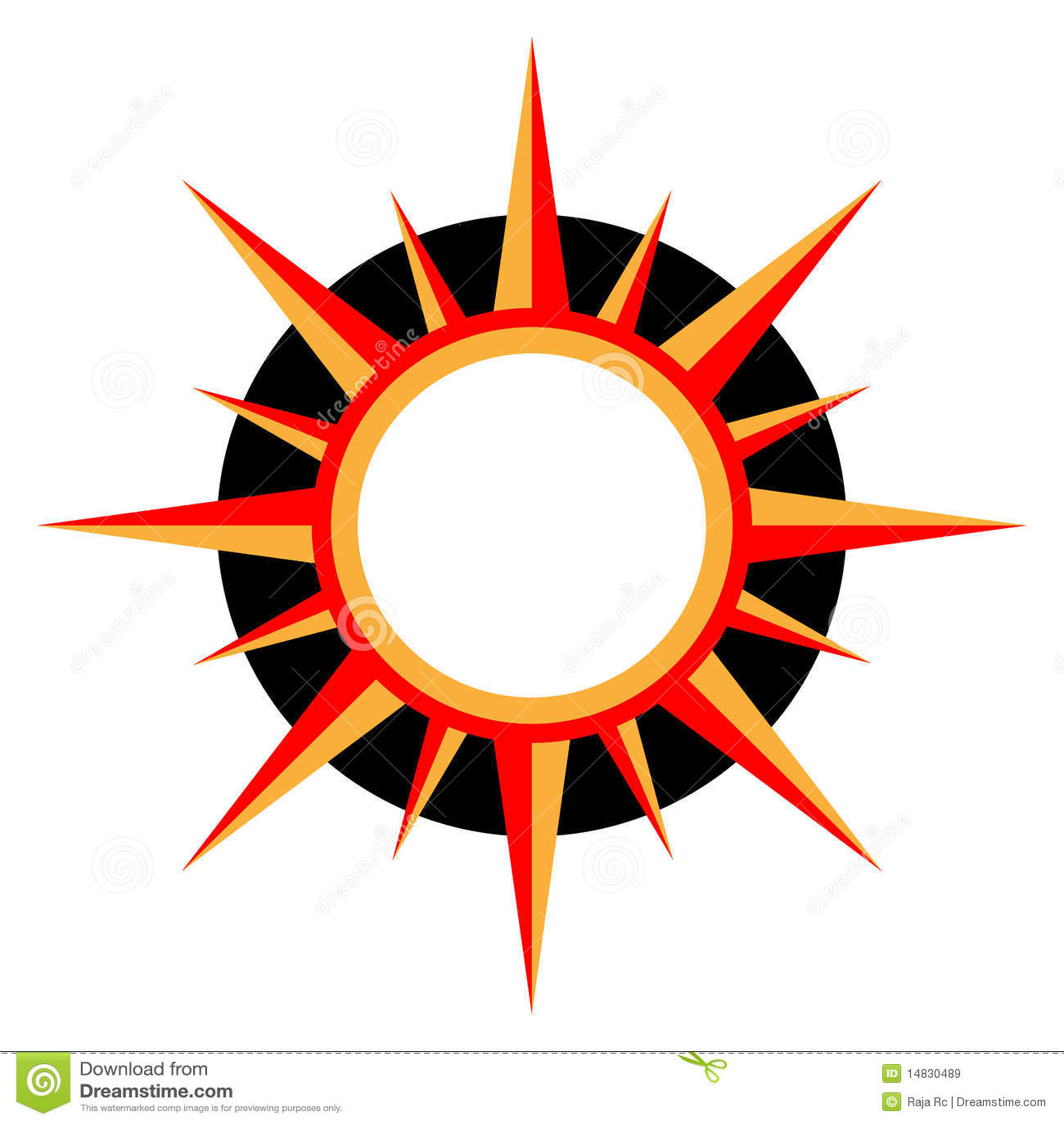 Sun logo stock vector illustration of symbol heat decorative sun logo buycottarizona Images