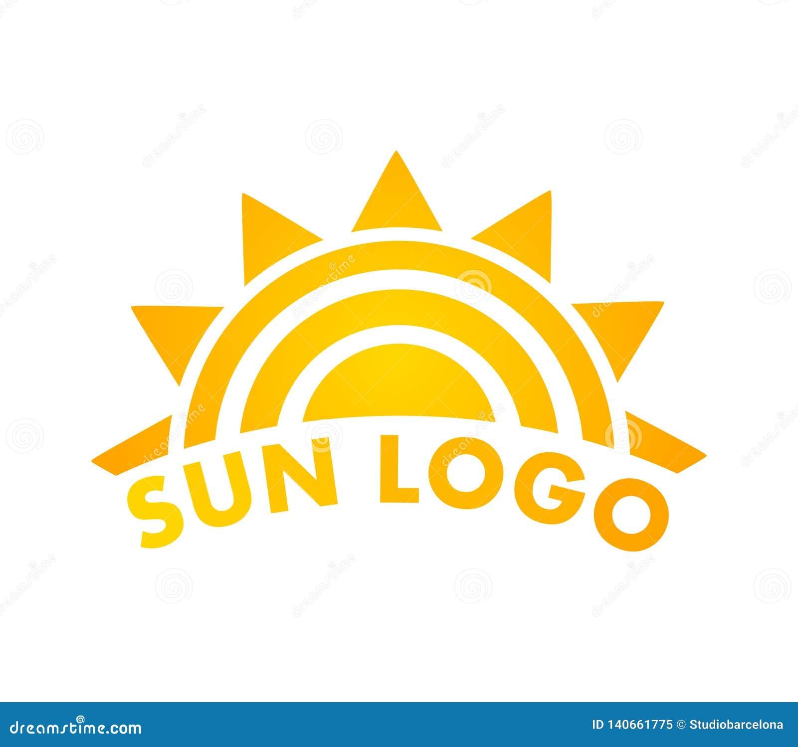 Sun Logo Icon