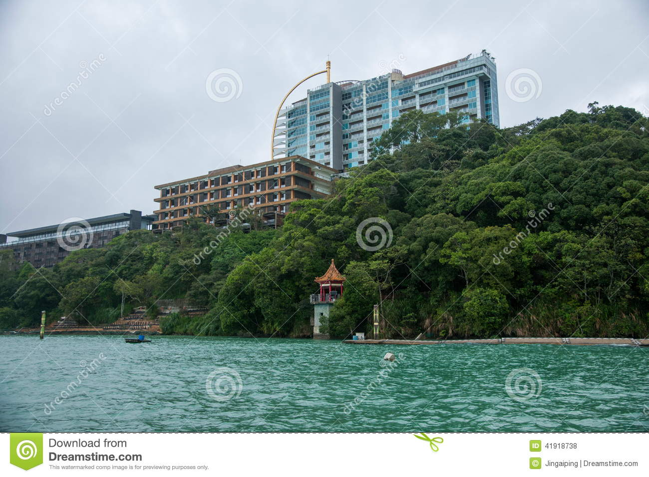 Sun Moon Lake in Nantou County, Taiwan Scenery