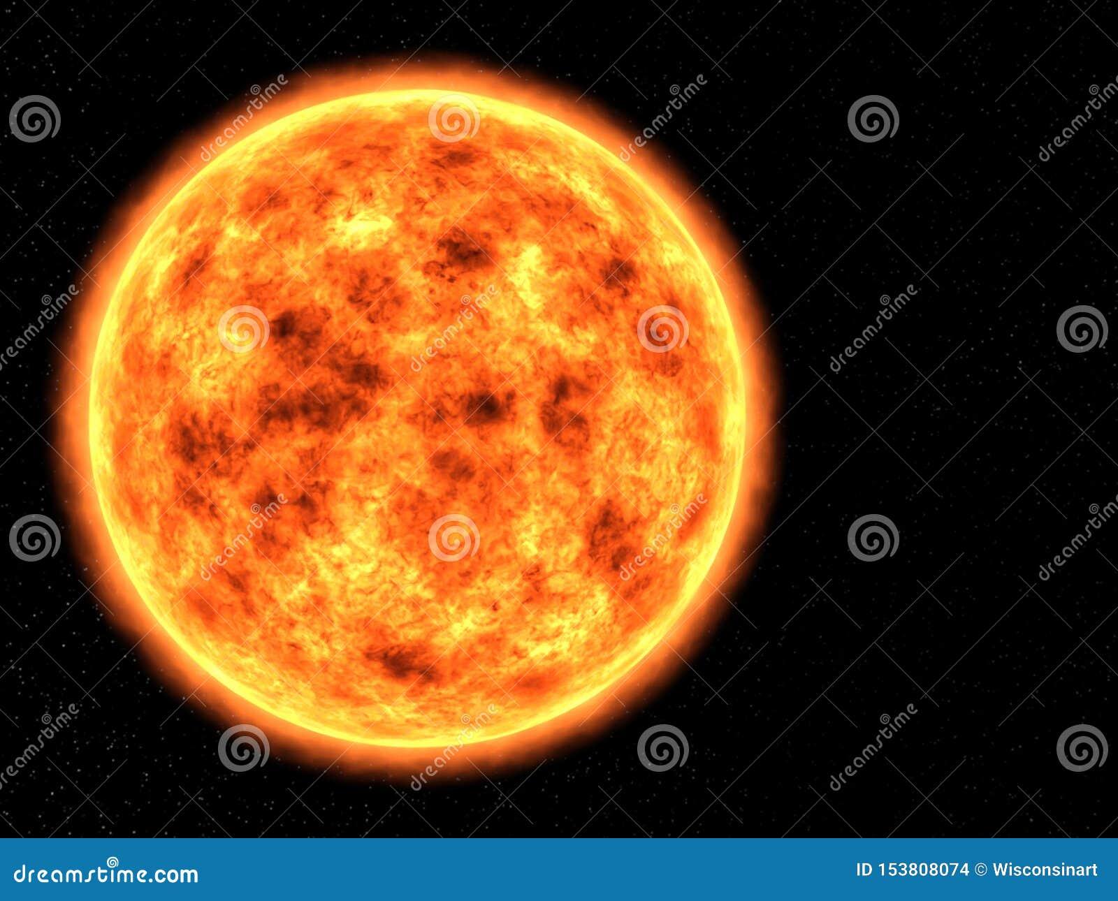 Sun, o espaço, sistema solar, estrela