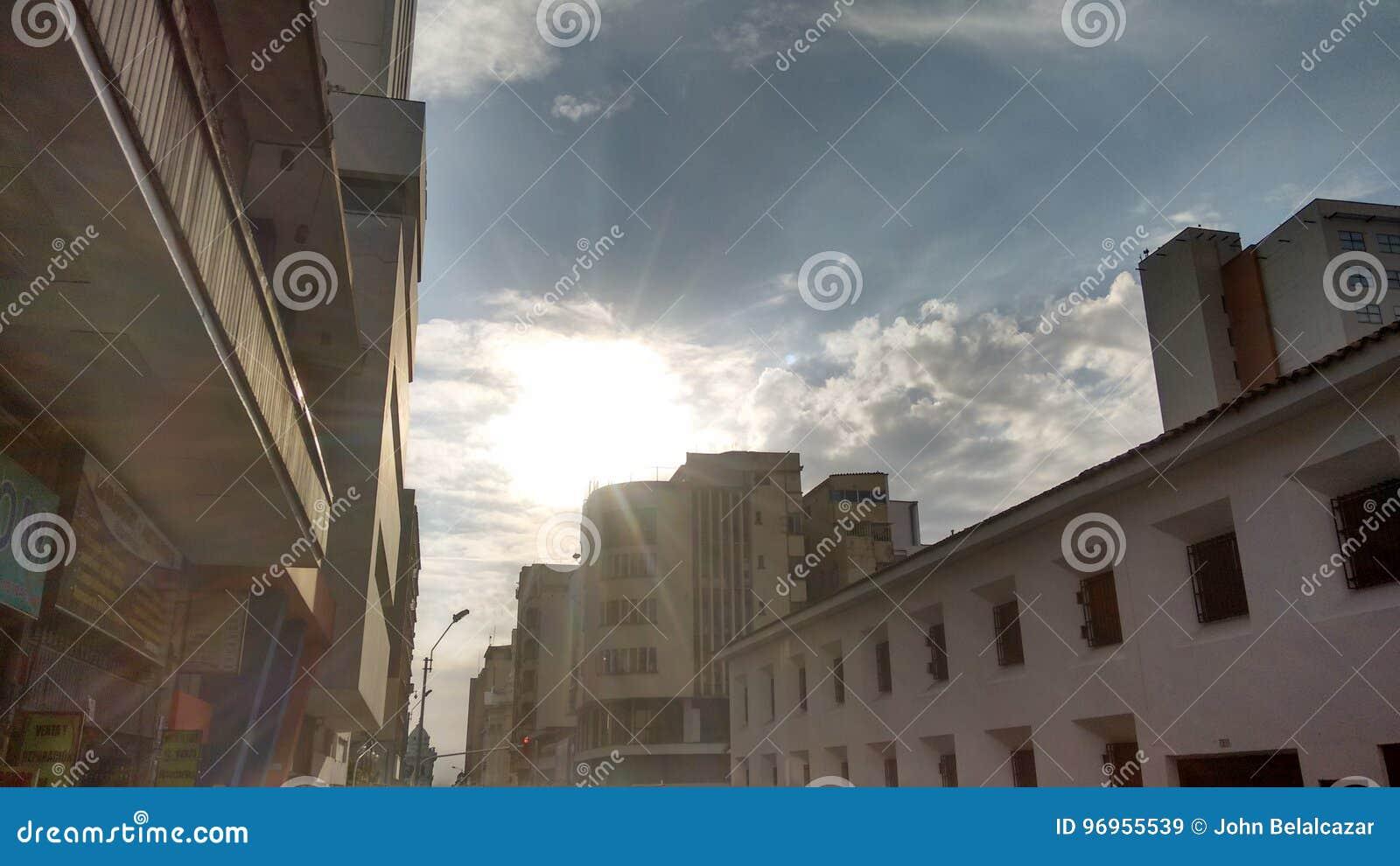 The Sun och staden