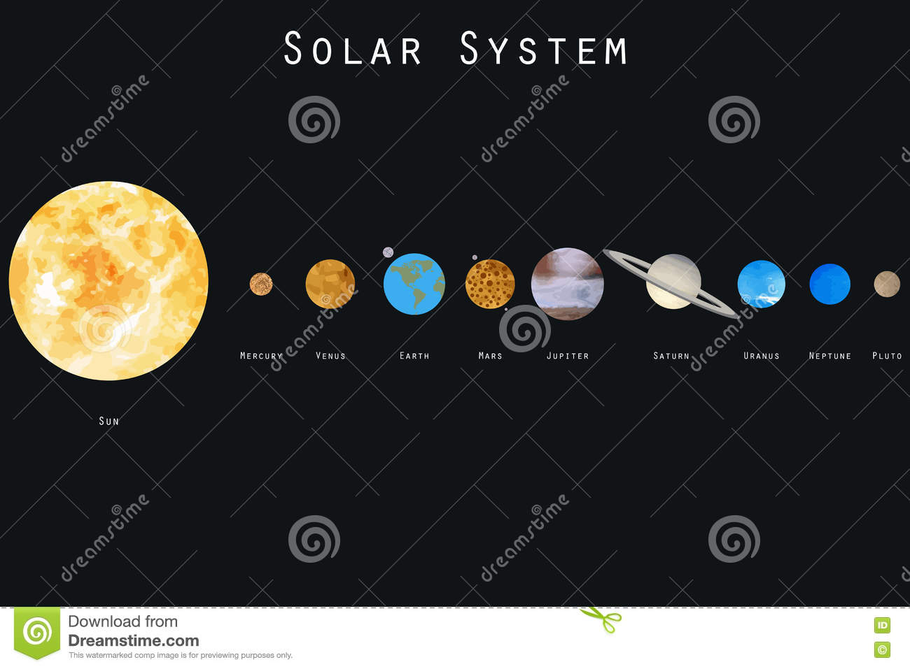 solar system vector free download - photo #9
