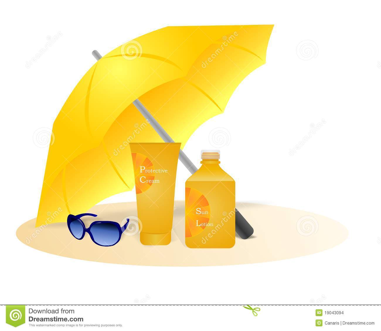 Sun Protection Cdr Vector Stock Images Image 19043094