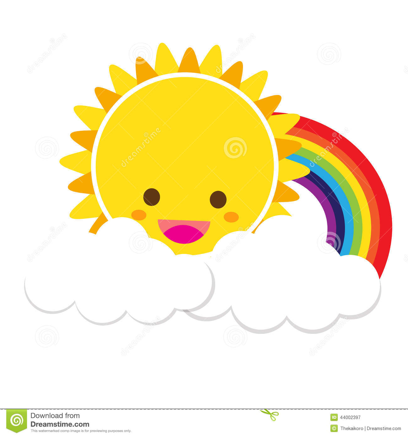 sun rainbow and cloud 002 stock vector image 44002397 hot weather clip art with hockey players hot weather clipart free