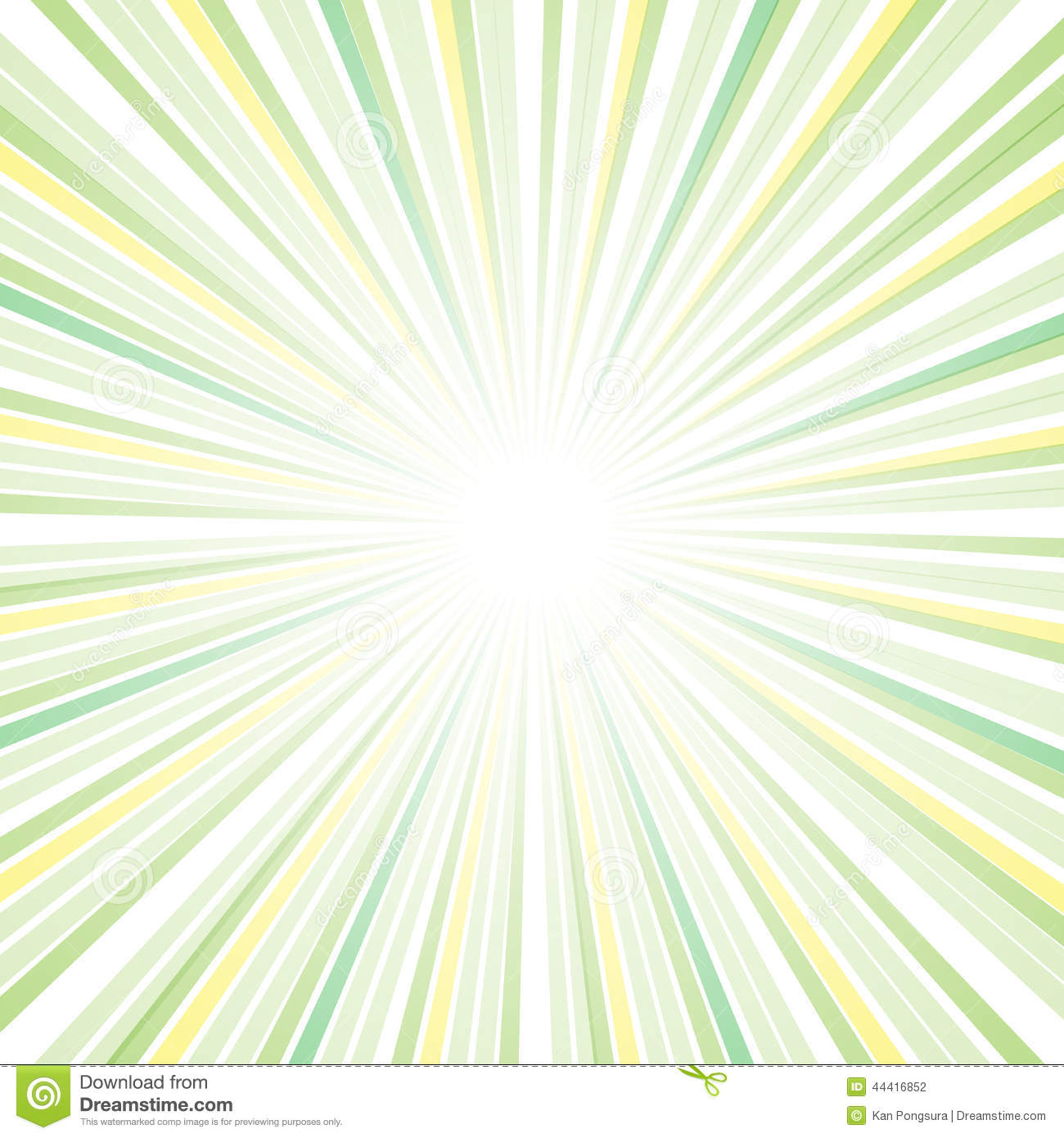 Sun Ray Abstract Design Stock Vector - Image: 44416852