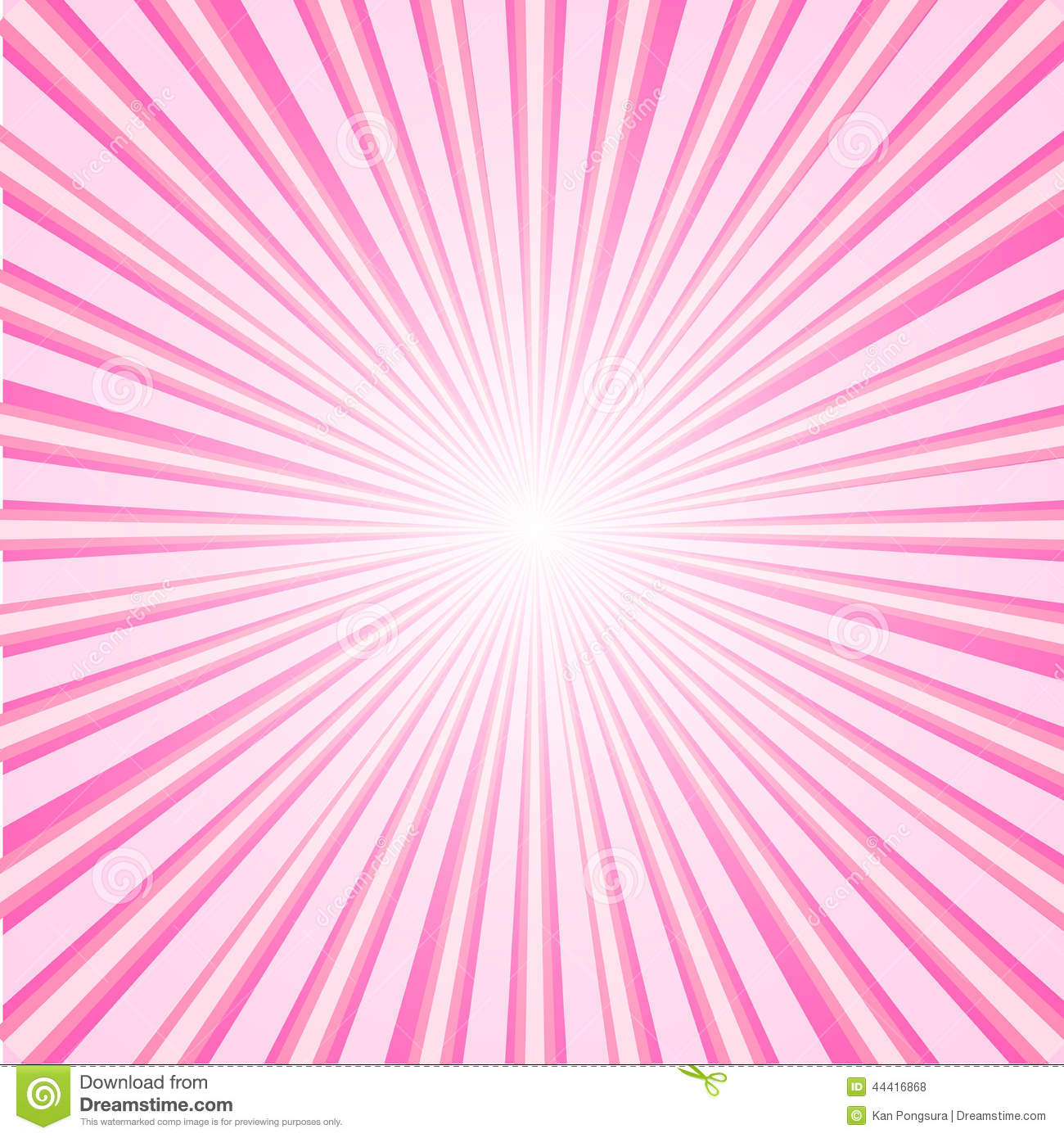 Sun Ray Abstract Design Stock Vector - Image: 44416868