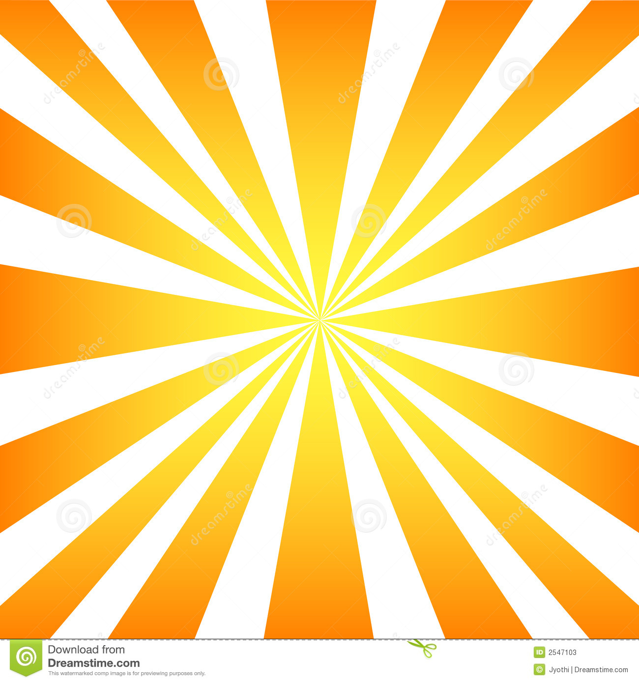 sun rays stock vector illustration of orange illustration 2547103