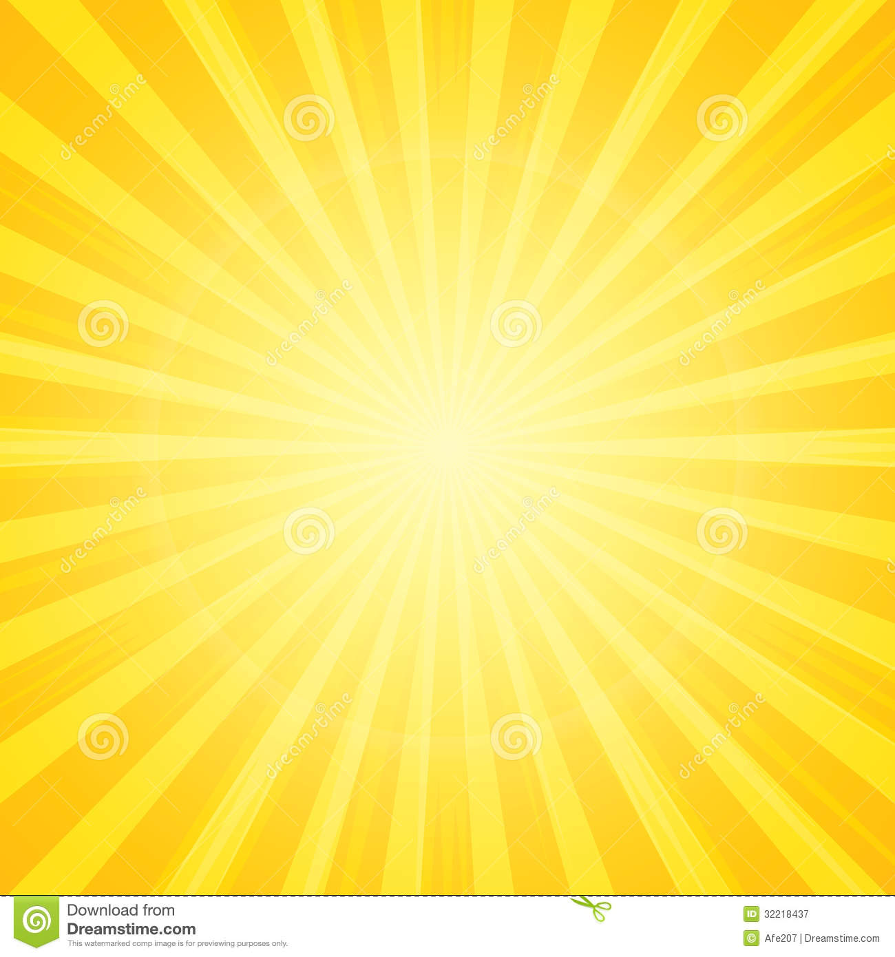 Sun With Rays Background Royalty Free Stock Photography - Image ...