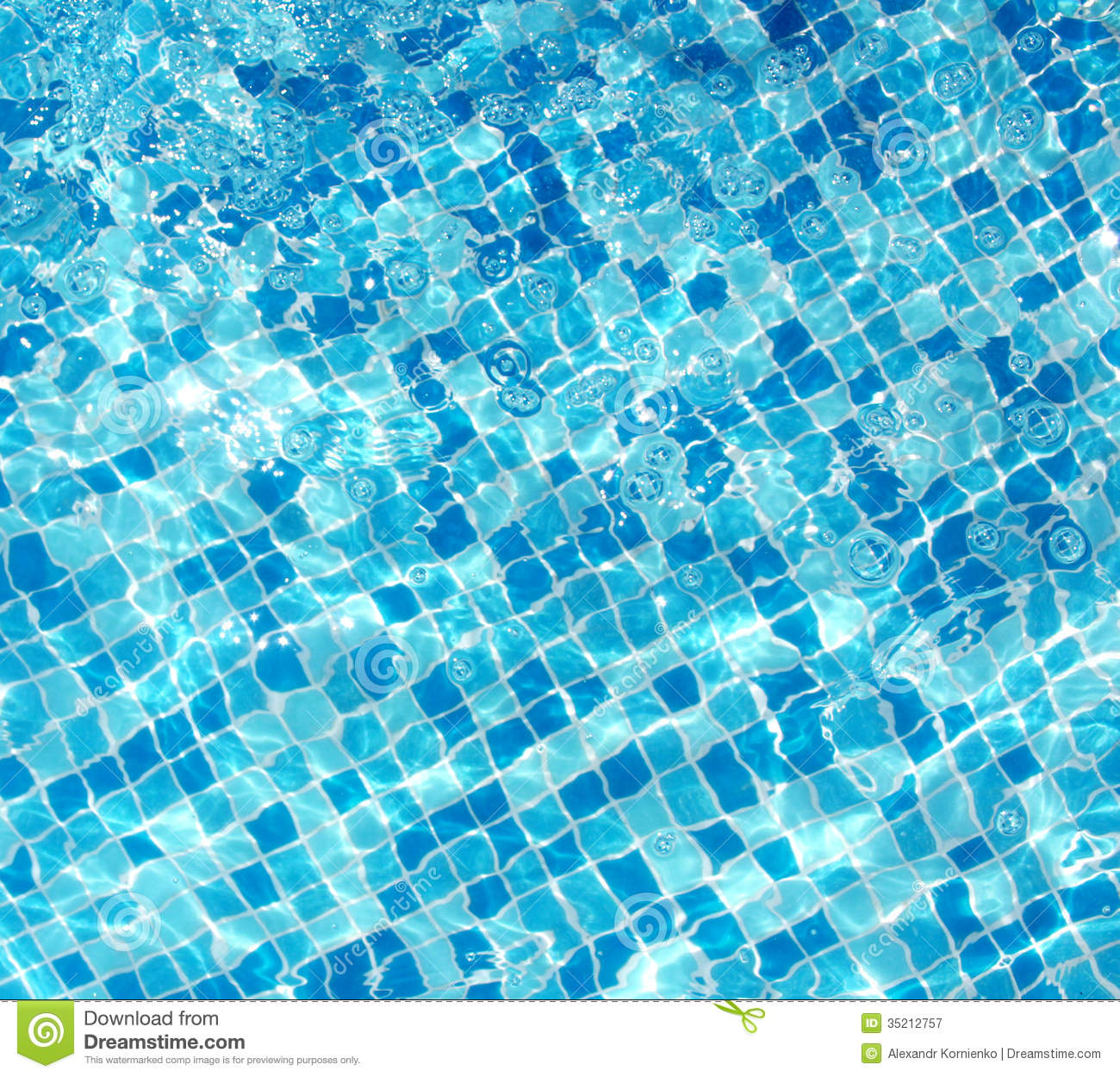 Sun reflection stock image image of clean aqua brightly - How to make swimming pool water blue ...