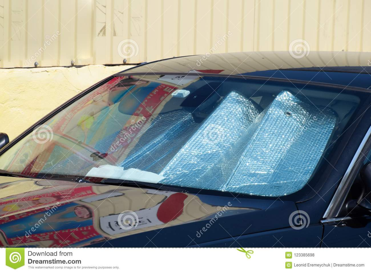 Sun Reflector Windscreen Protection Of The Car Panel From Direct