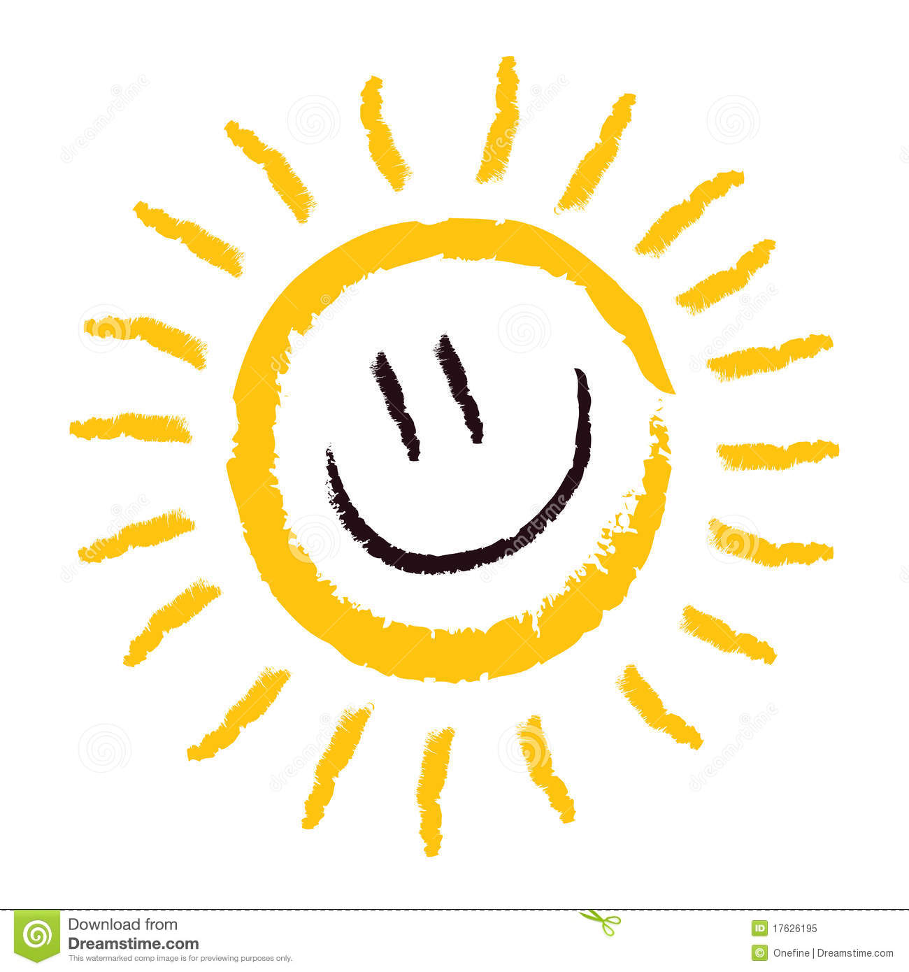 Sun Smile Royalty Free Stock Photo - Image: 17626195