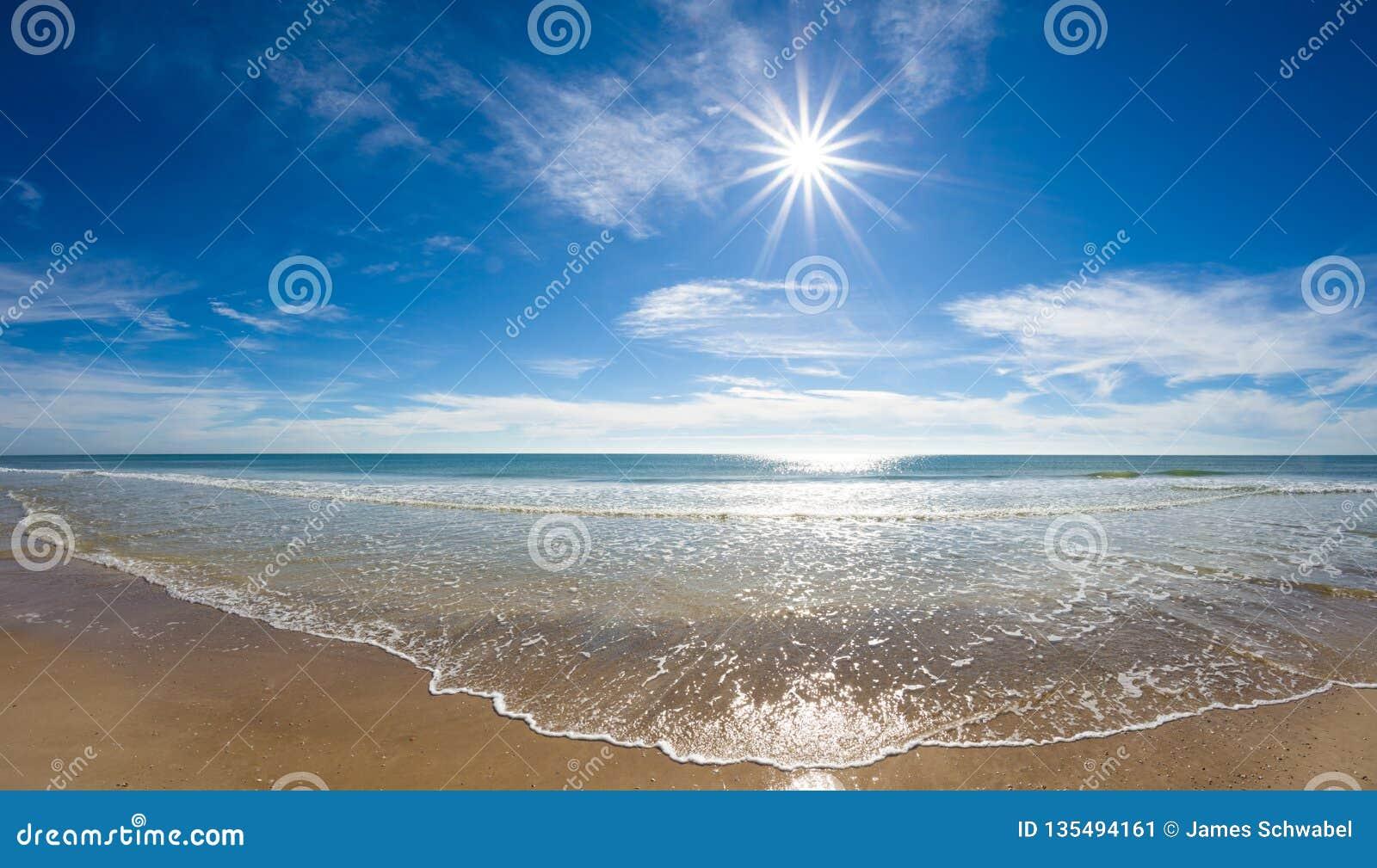 Sun sobre el Golfo de México