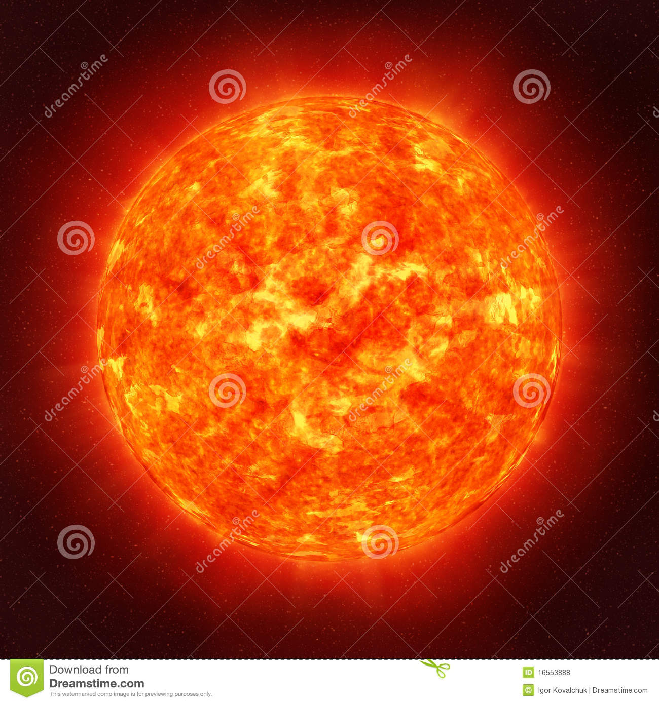Sun From Space: Sun In Space Royalty Free Stock Photos