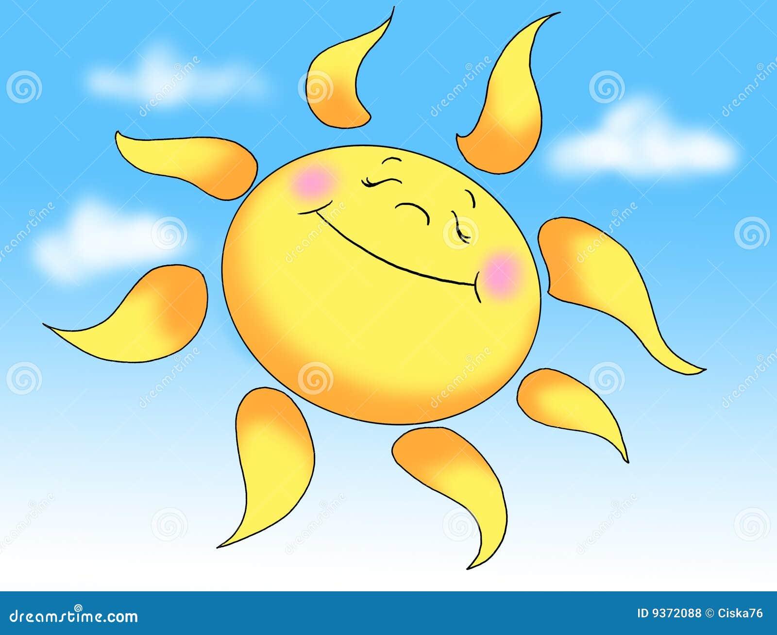 Sun in summer