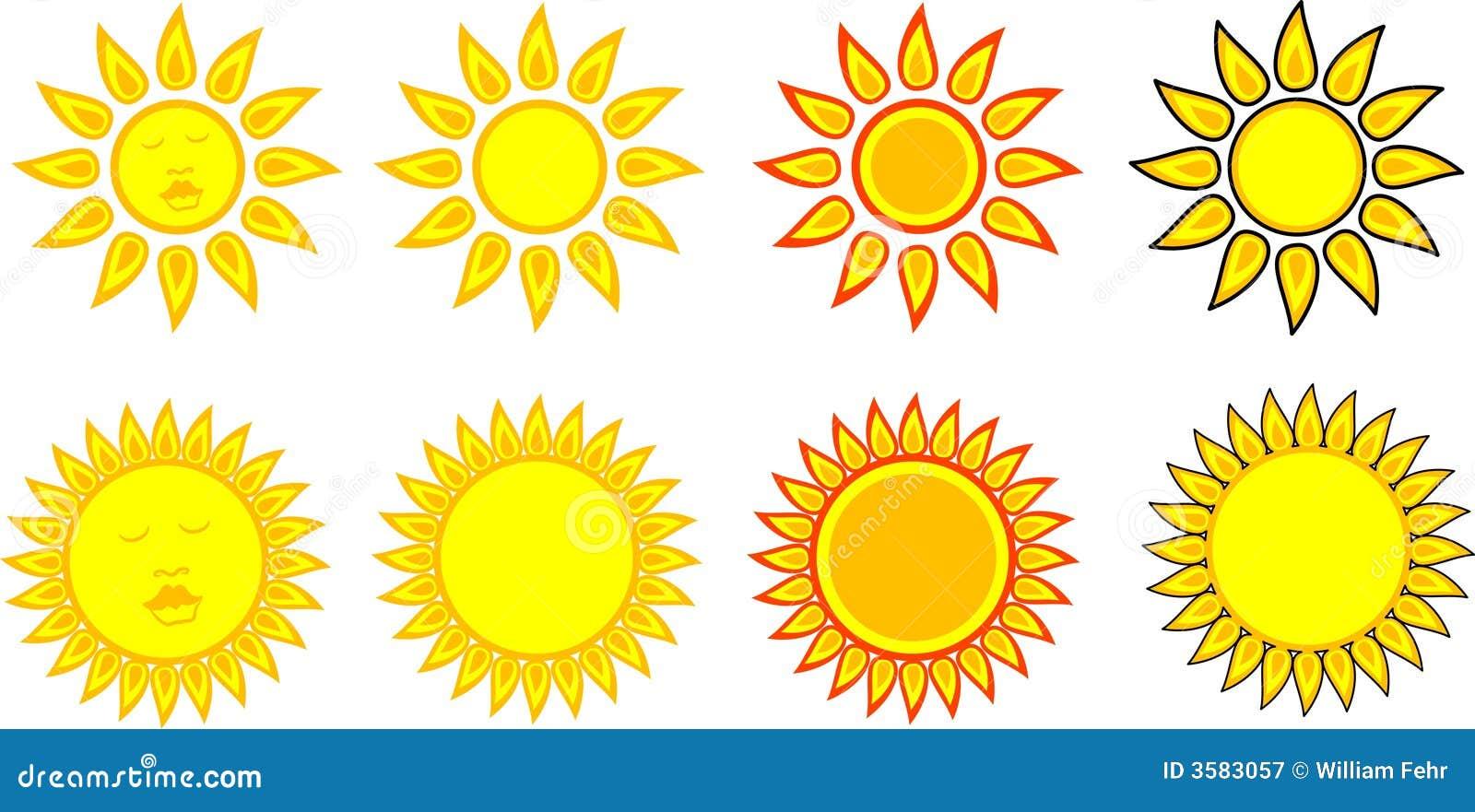 Sun symbols stock vector illustration of symbol orange 8419761 sun symbols royalty free stock photography buycottarizona Images