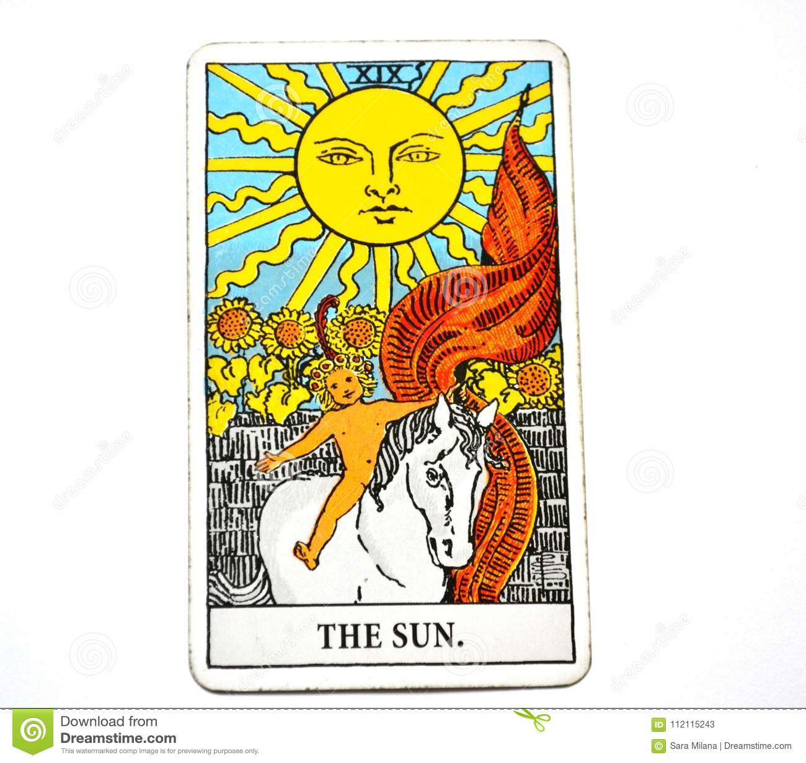 The Sun Tarot Card Life energy vitality joy enlightenment warmth manifestation happiness