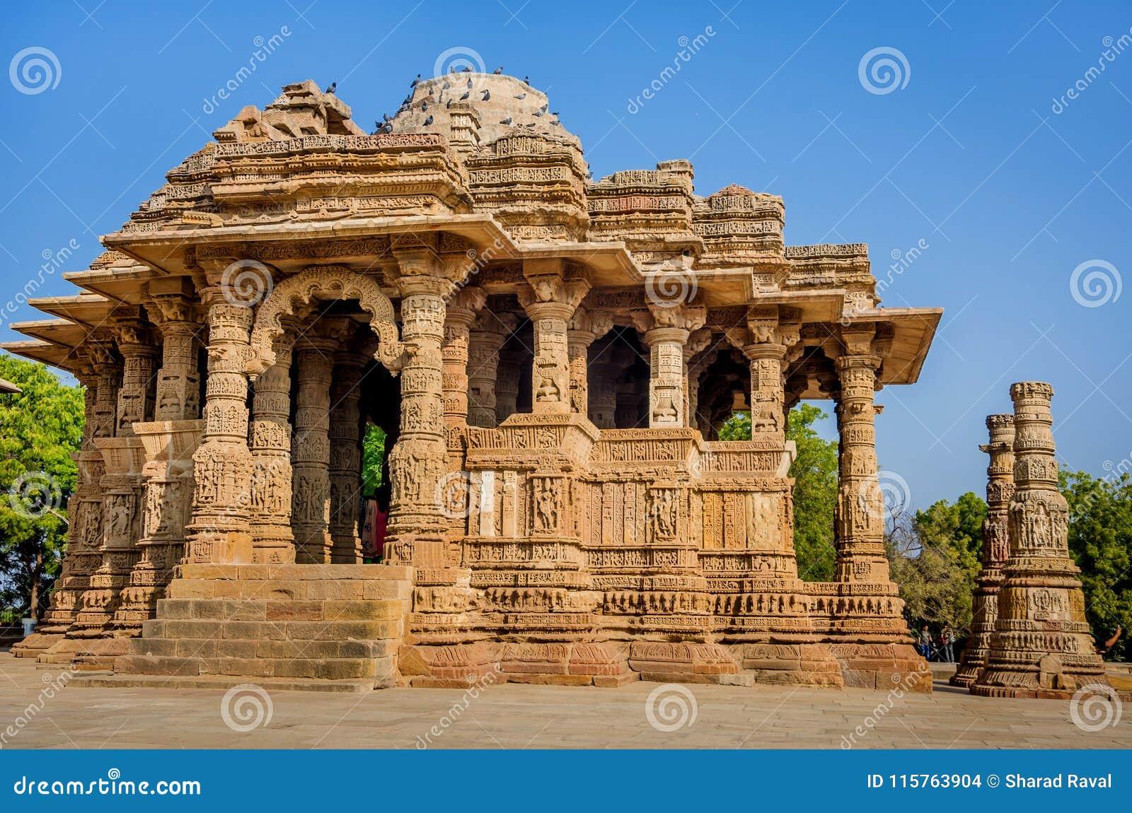The Sun-Tempel, Modhera Gujarat