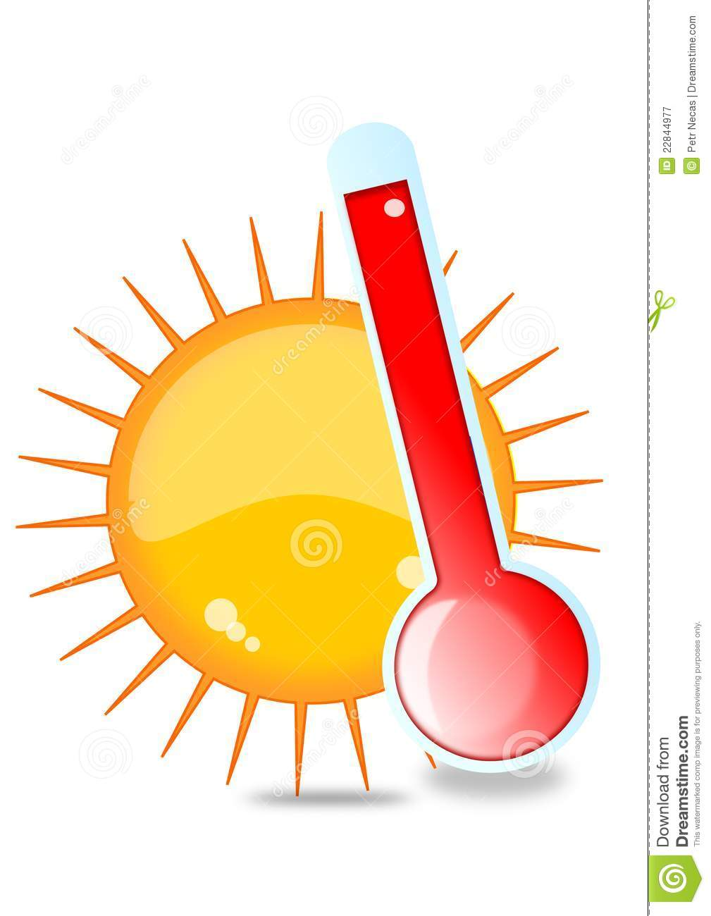 Sun And Thermometer Ro...