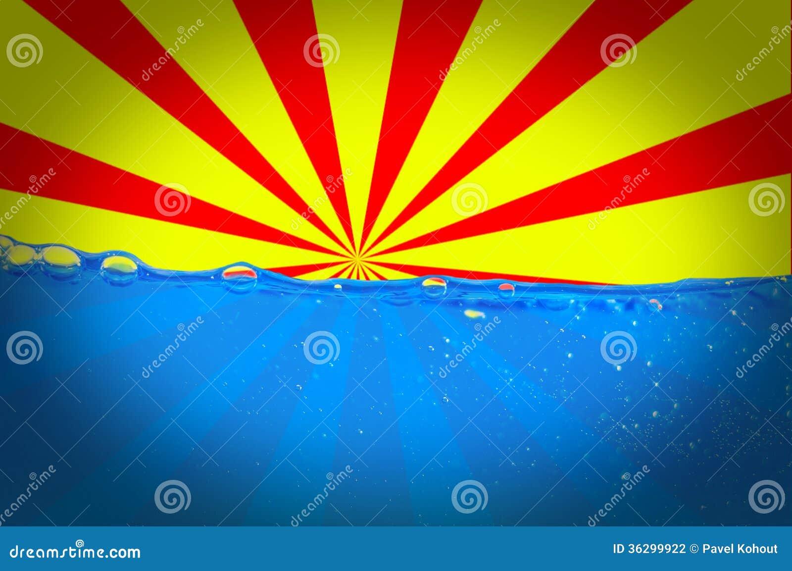 Sun und Wasser