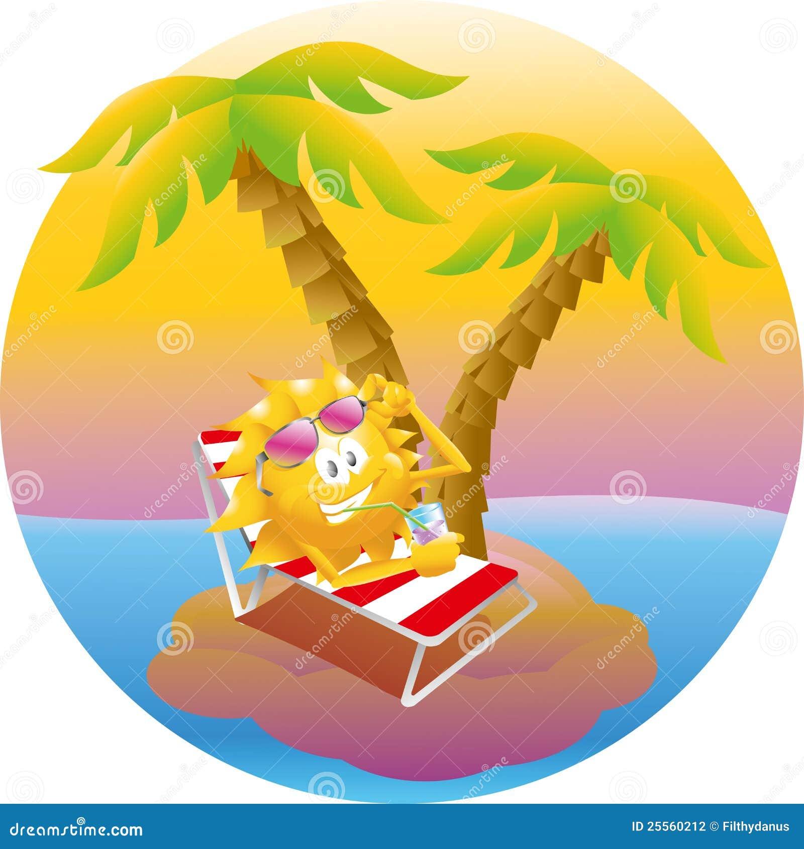 sun on vacation island stock vector illustration of Happy Family Clip Art happy sun clip art png