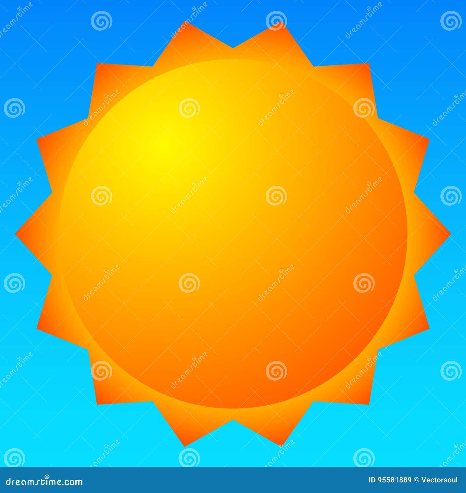 Sun Vector Clip-art  Sun Illustration For Weather, Summer